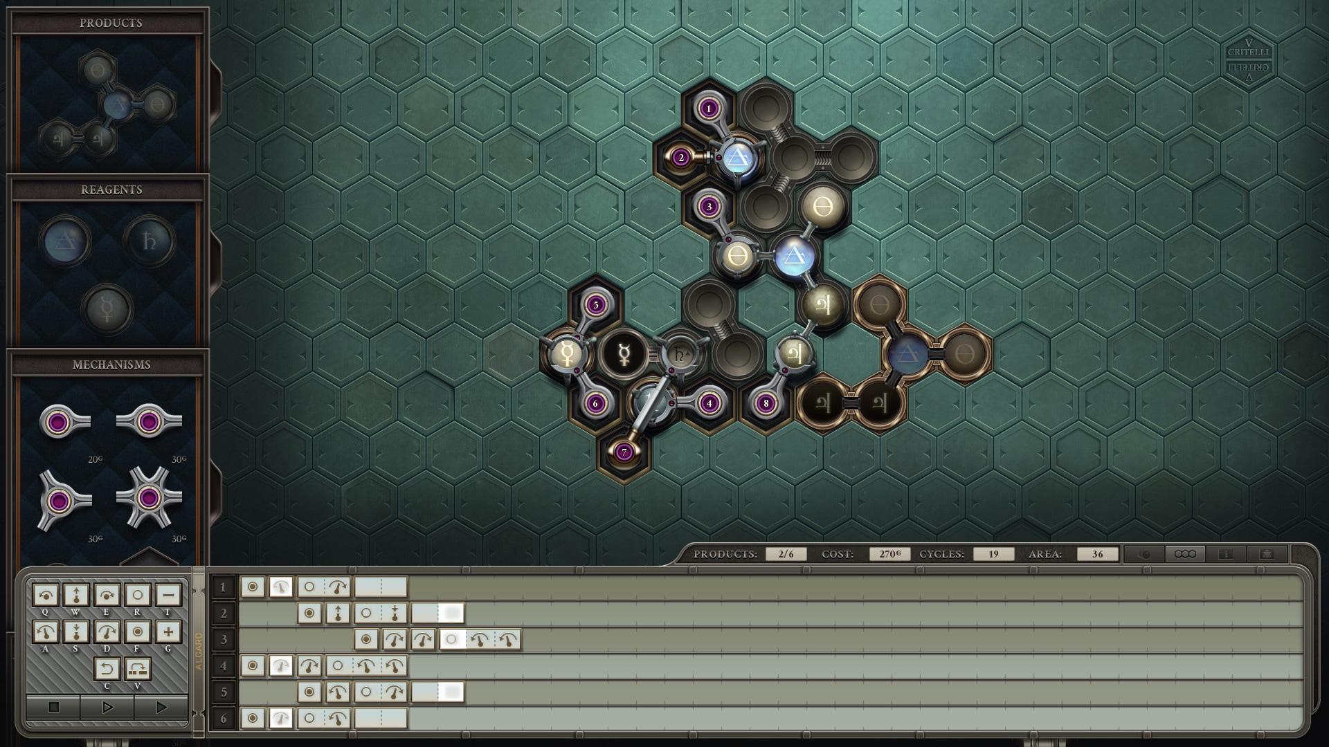 Opus Magnum (PC) - Steam Key - GLOBAL - 4