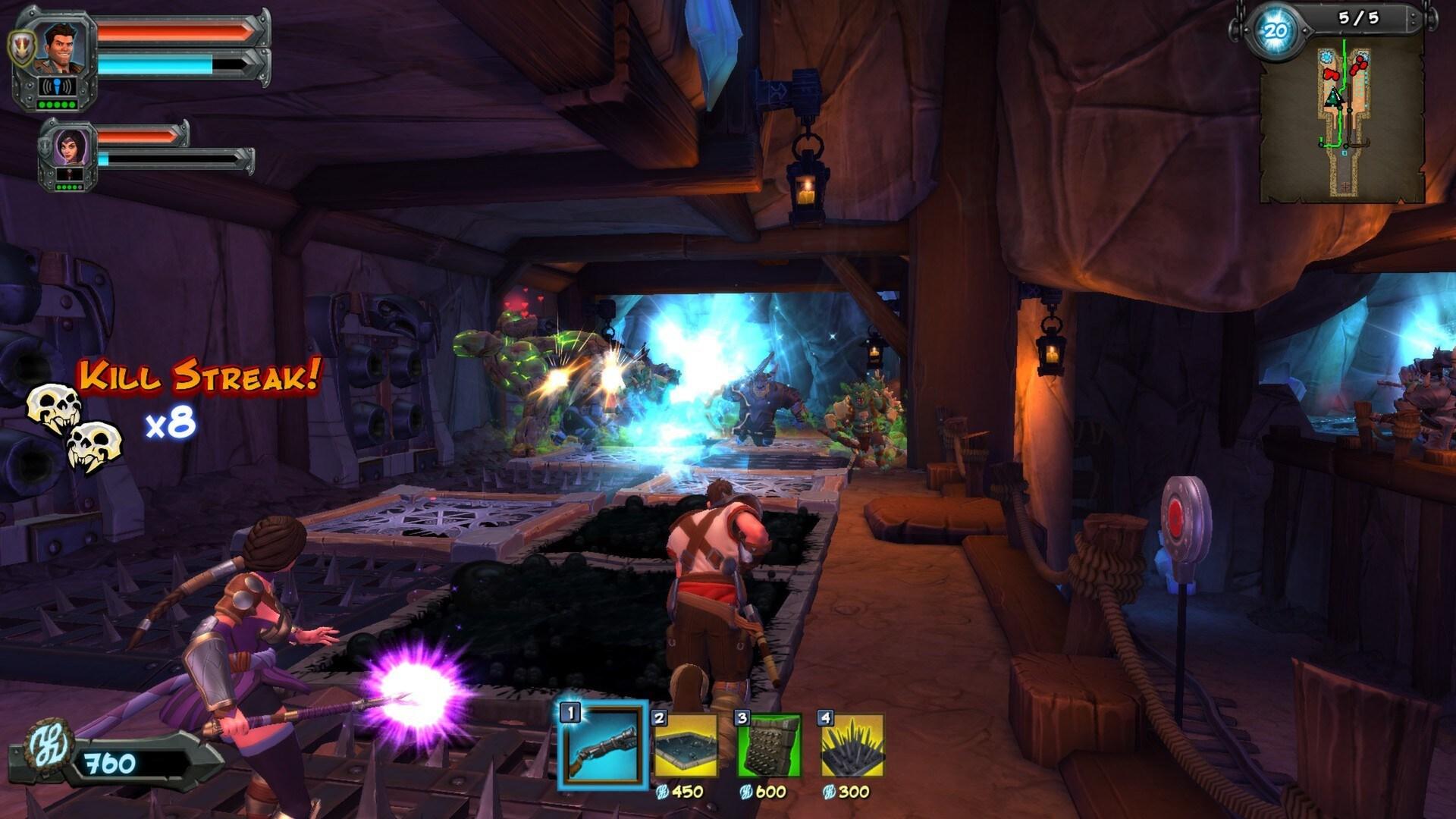 Orcs Must Die! 2 Steam Key GLOBAL - 2