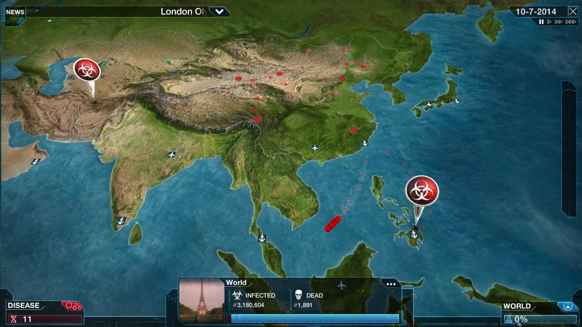 Plague Inc: Evolved Steam Key GLOBAL - 3