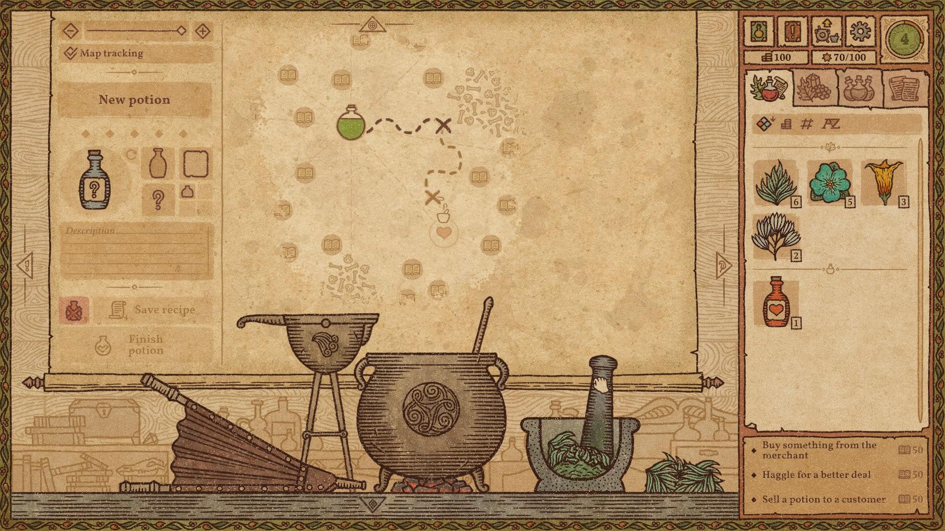 Potion Craft: Alchemist Simulator (PC) - Steam Key - GLOBAL - 3