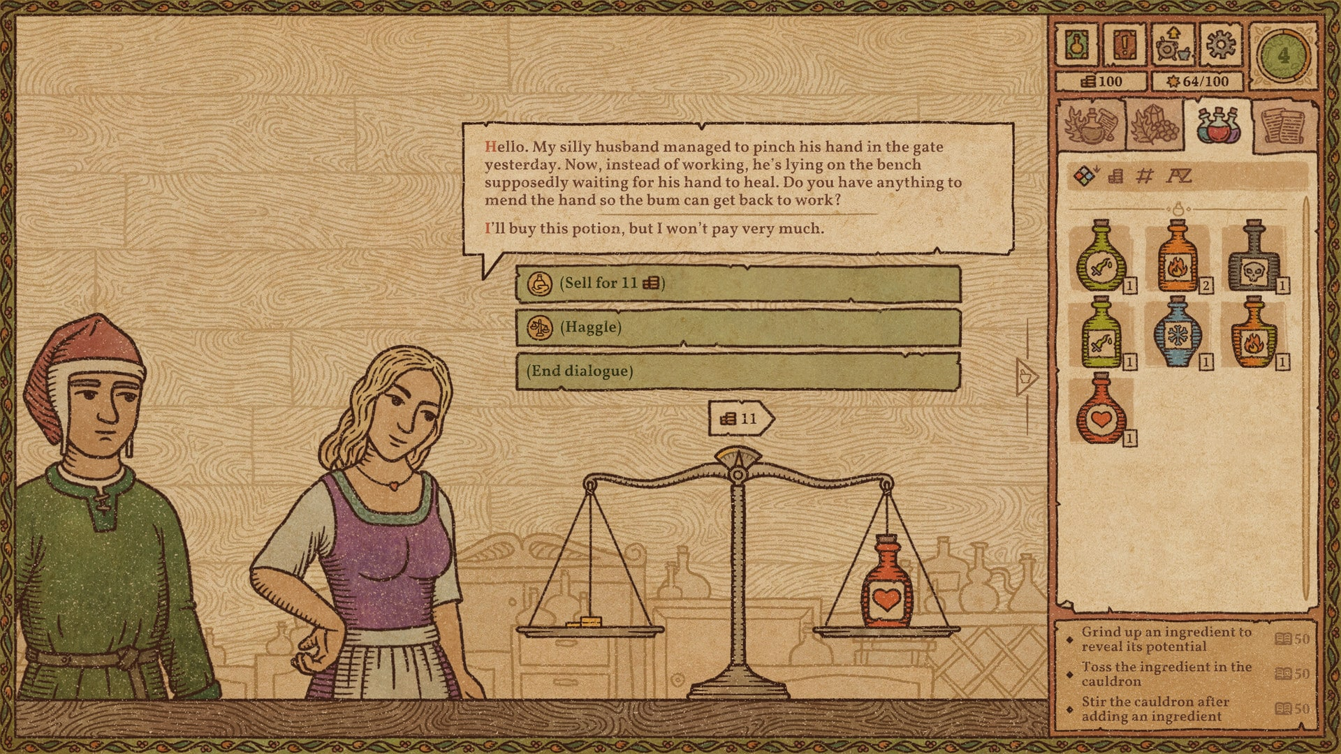 Potion Craft: Alchemist Simulator (PC) - Steam Key - GLOBAL - 4