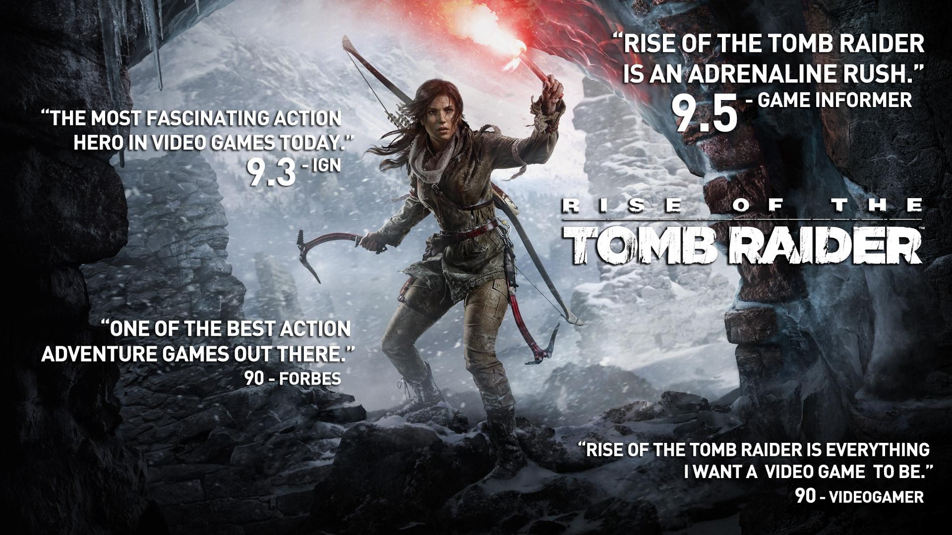 Rise of the Tomb Raider 20 Years Celebration Steam Key GLOBAL - 4