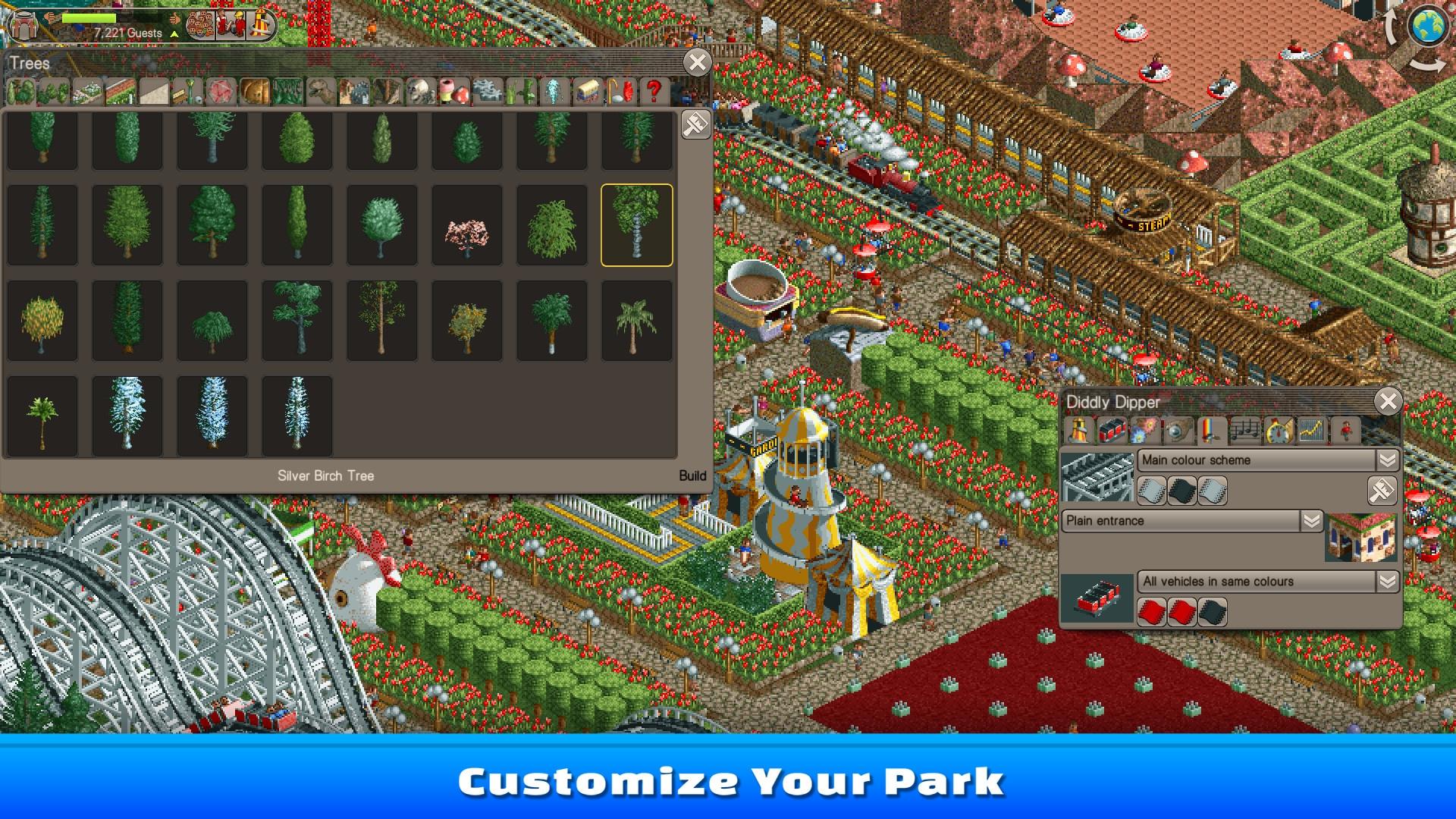 RollerCoaster Tycoon Classic Steam Key GLOBAL - 4