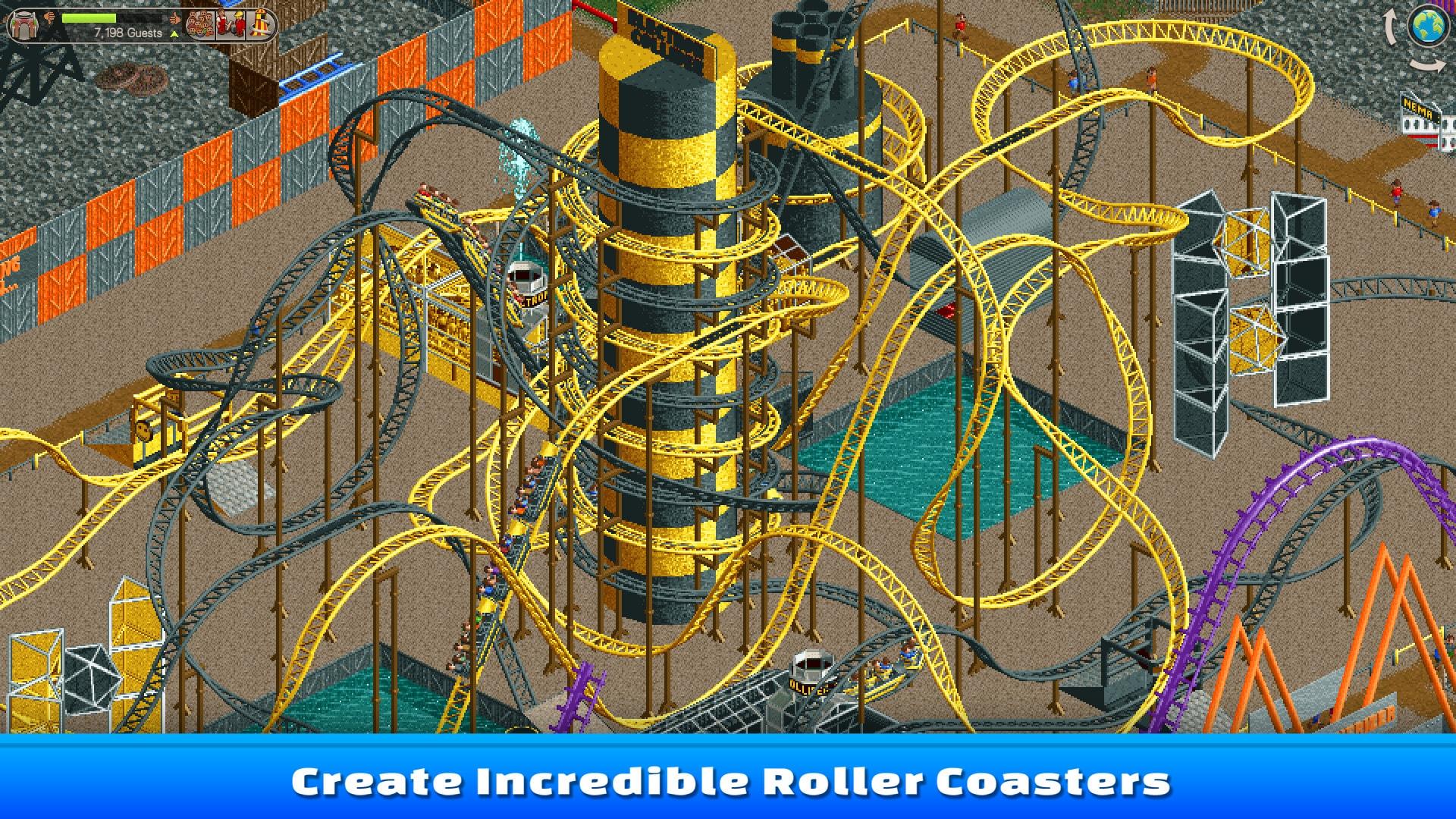 RollerCoaster Tycoon Classic Steam Key GLOBAL - 3