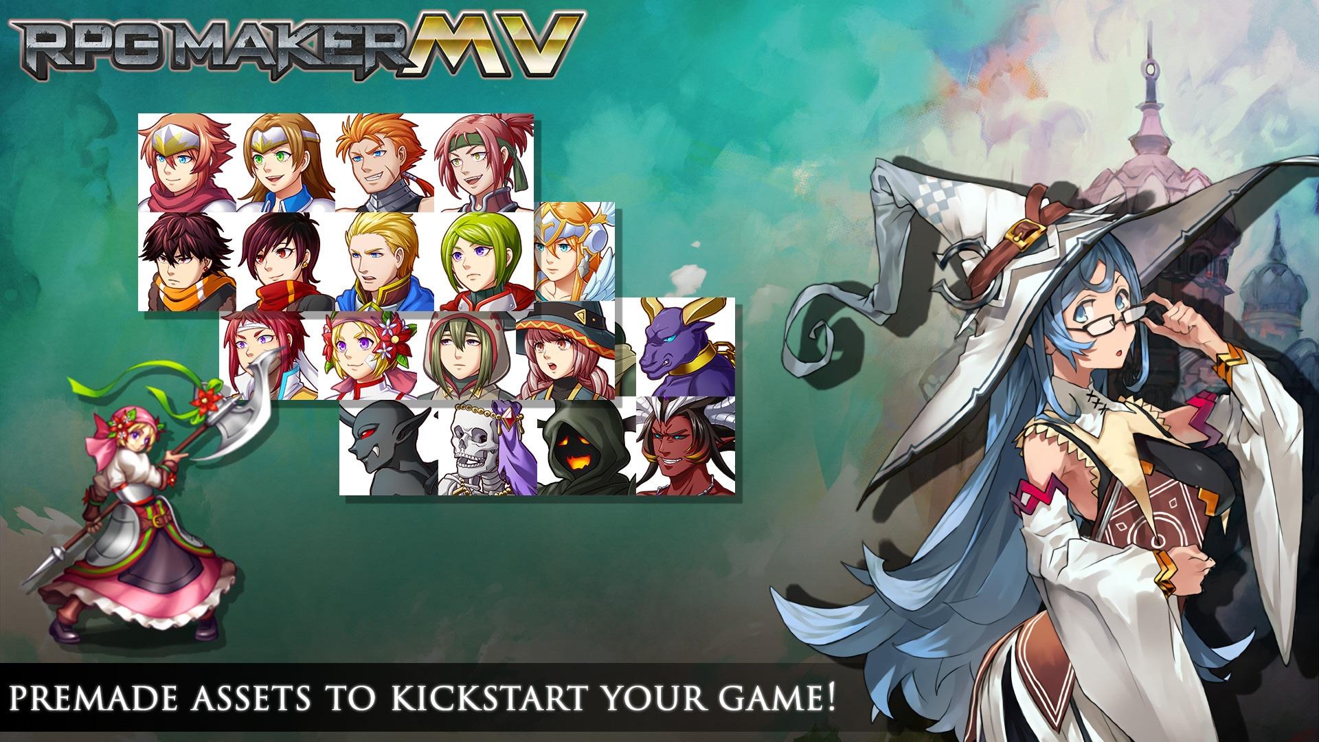 RPG Maker MV Steam Key GLOBAL - 3
