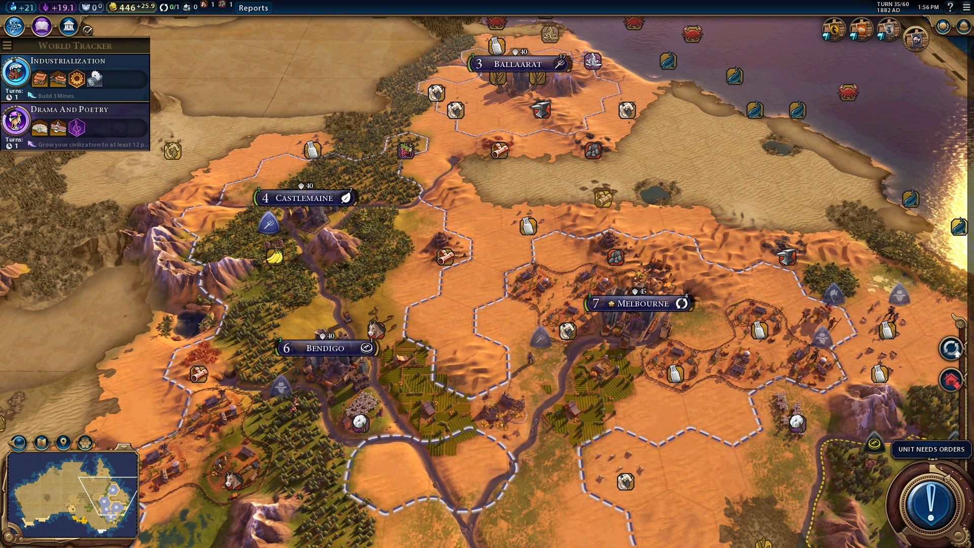 Sid Meier's Civilization VI - Australia Civilization & Scenario Pack (PC) - Steam Key - GLOBAL - 4