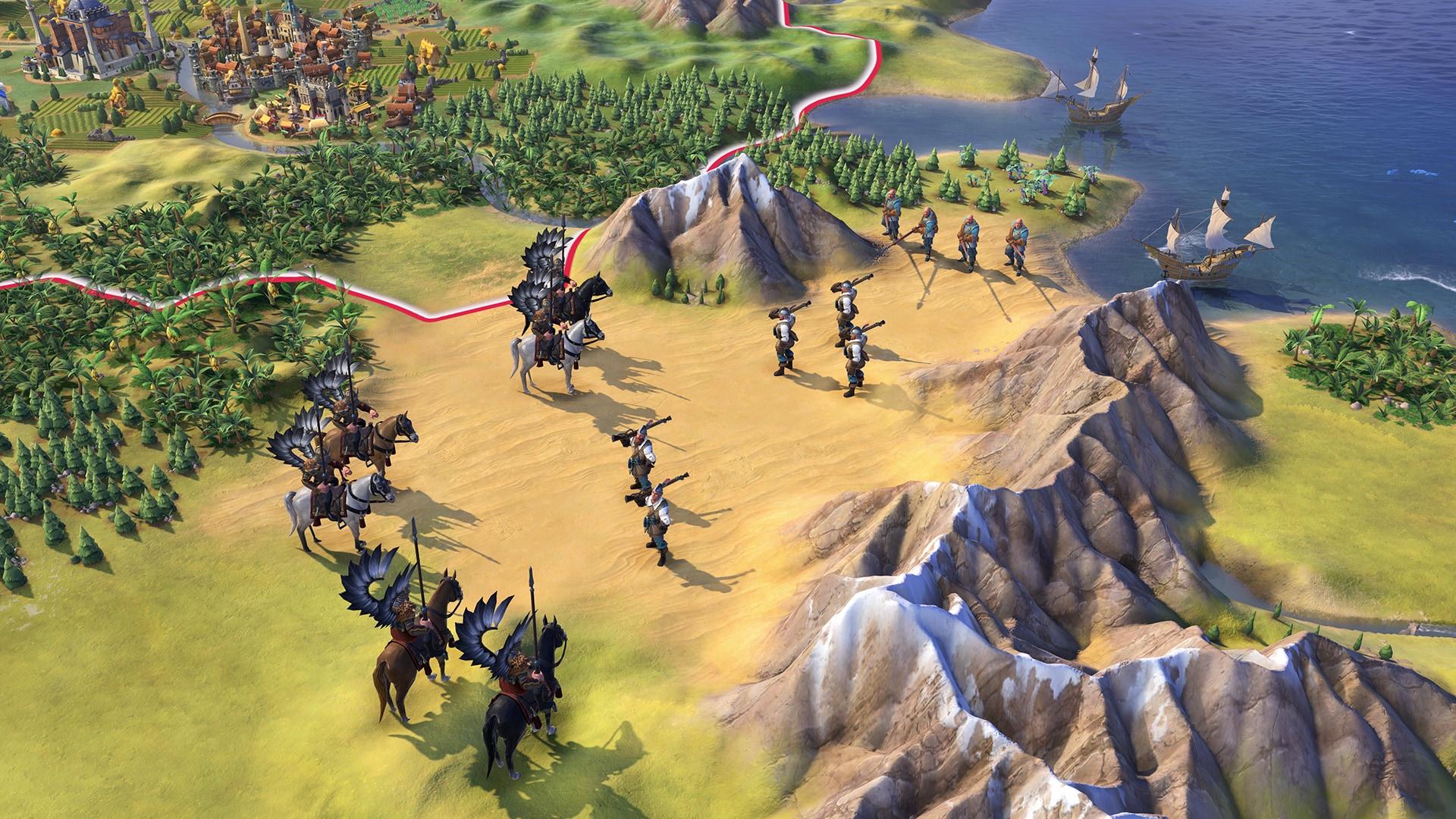 Sid Meier's Civilization VI - Poland Civilization & Scenario Pack Steam Key GLOBAL - 4