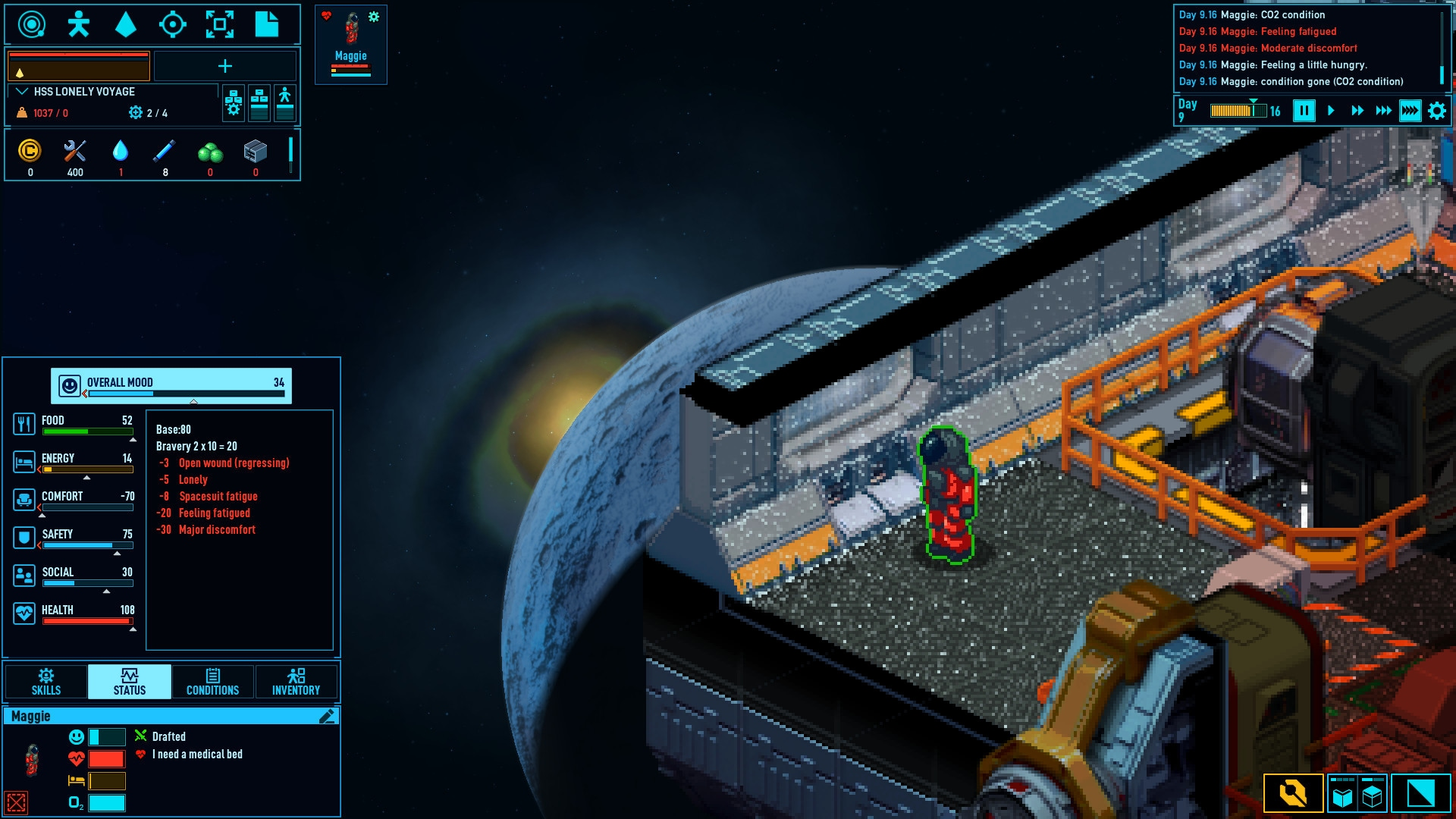 Space Haven (PC) - Steam Key - GLOBAL - 3