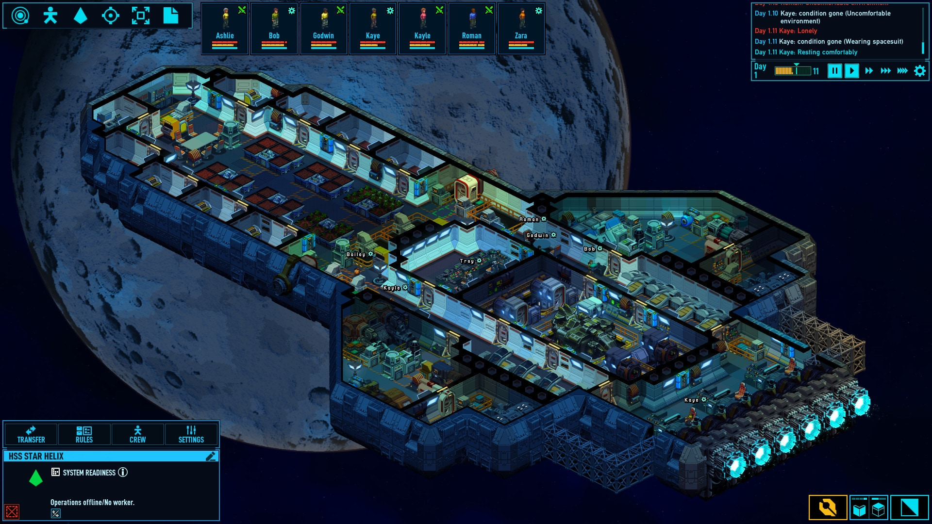 Space Haven (PC) - Steam Key - GLOBAL - 4