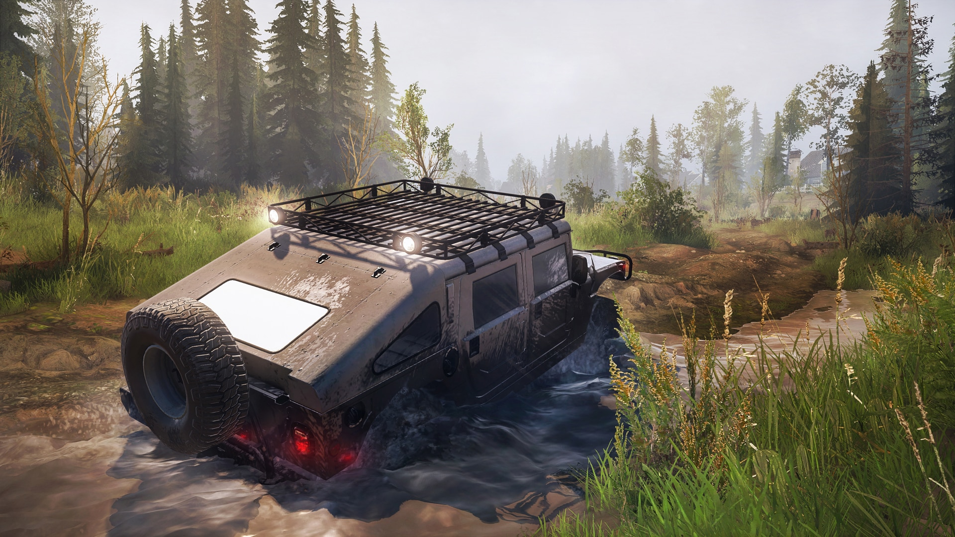 Spintires: MudRunner - American Wilds Expansion (PC) - Steam Key - GLOBAL - 1