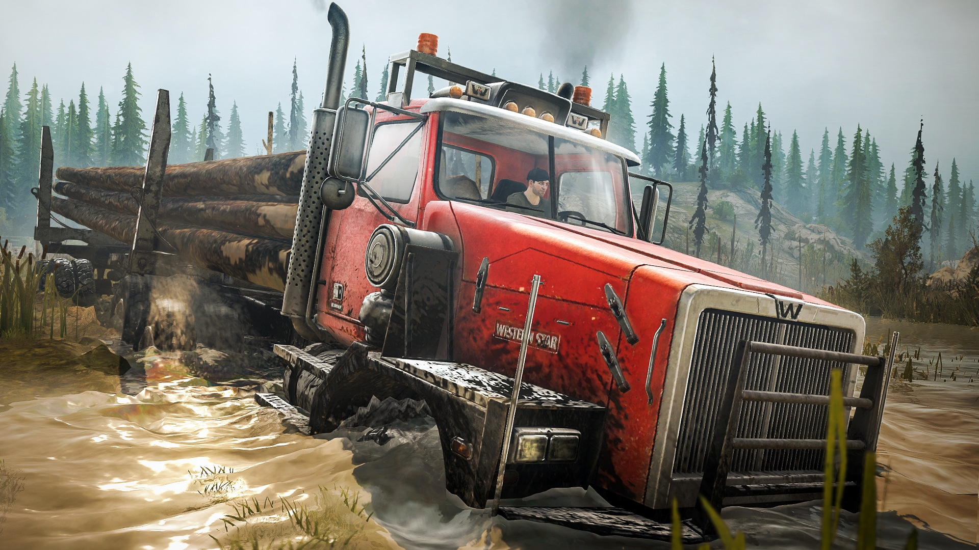 Spintires: MudRunner - American Wilds Expansion (PC) - Steam Key - GLOBAL - 3