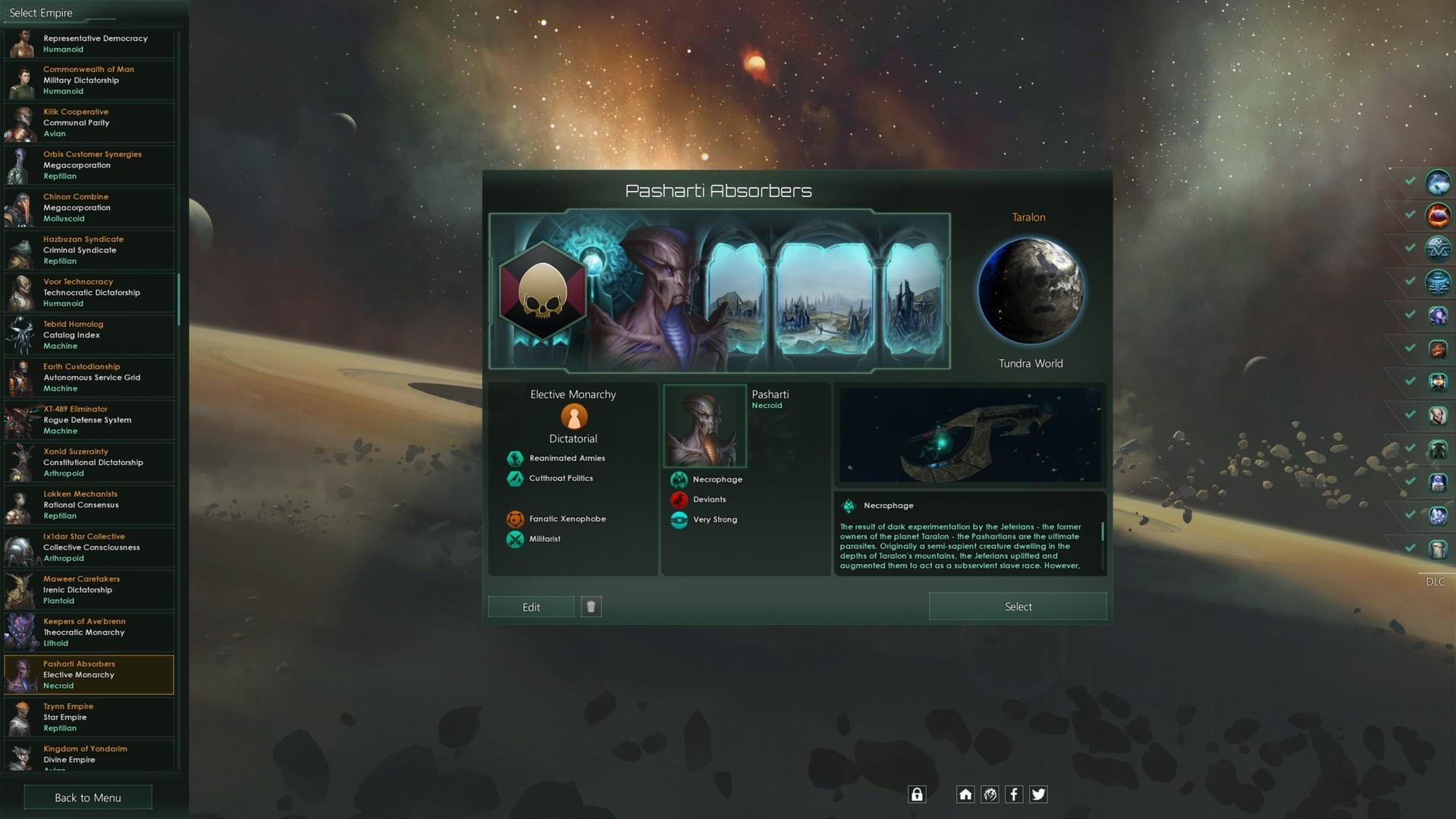 Stellaris: Necroids Species Pack (PC) - Steam Key - GLOBAL - 2