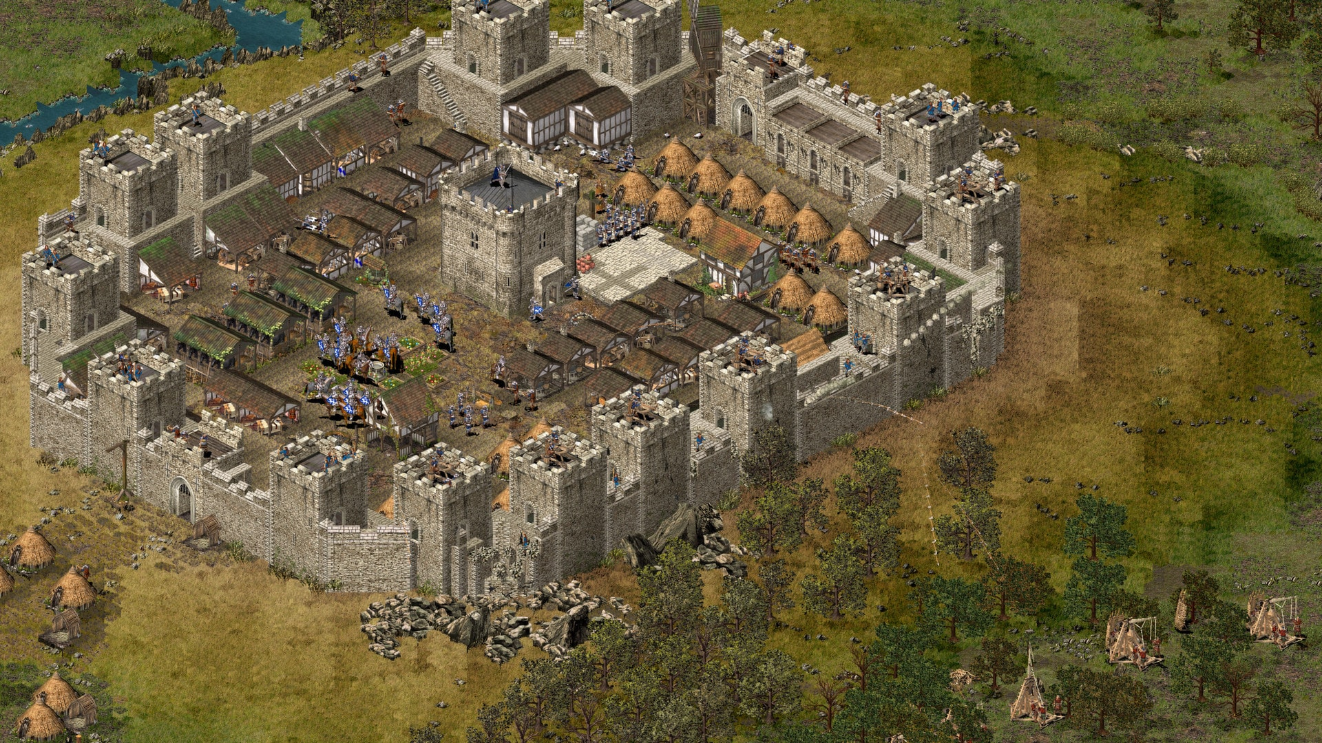 Stronghold HD Steam Key GLOBAL - 4
