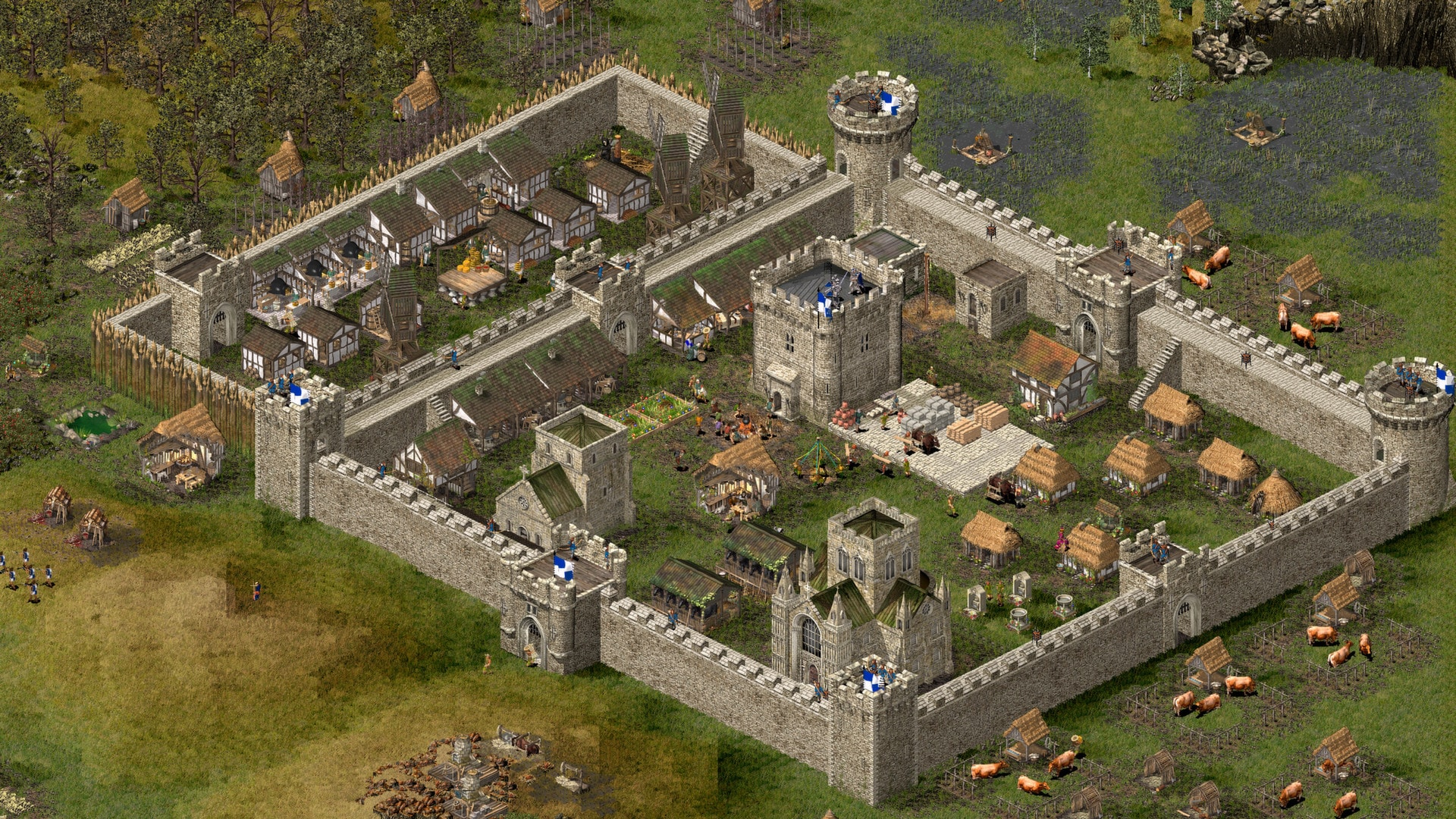 Stronghold HD Steam Key GLOBAL - 3