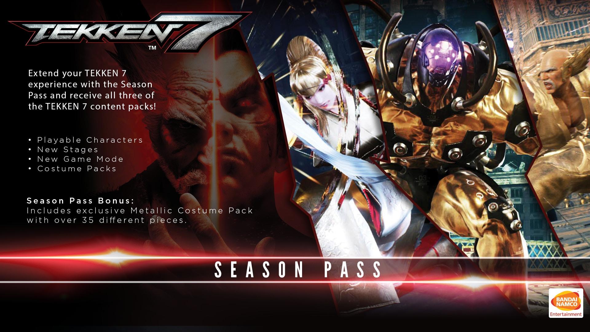 TEKKEN 7 - Season Pass Steam Key GLOBAL - 2