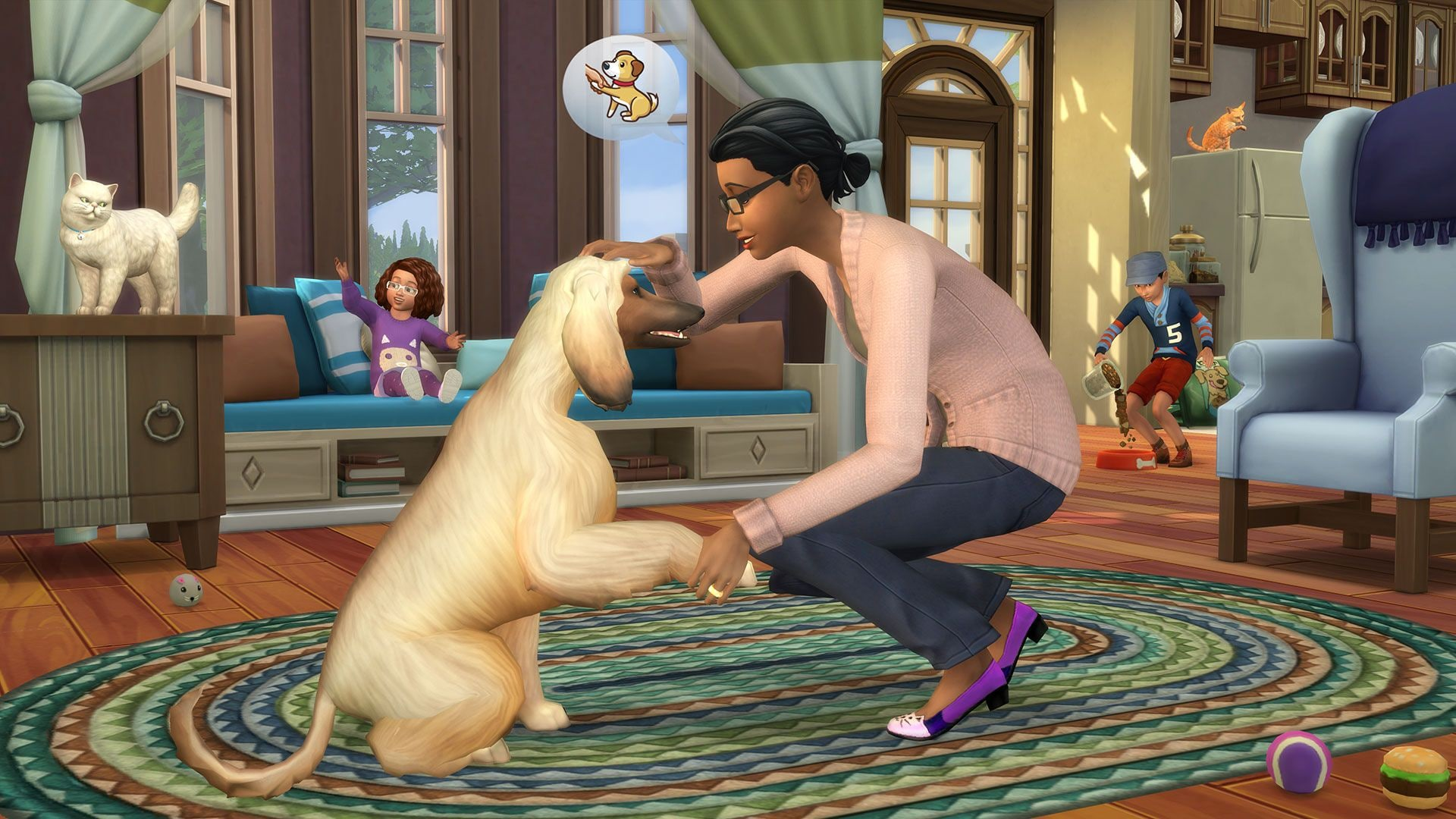 The Sims 4: Cats & Dogs Origin PC Key GLOBAL - 4