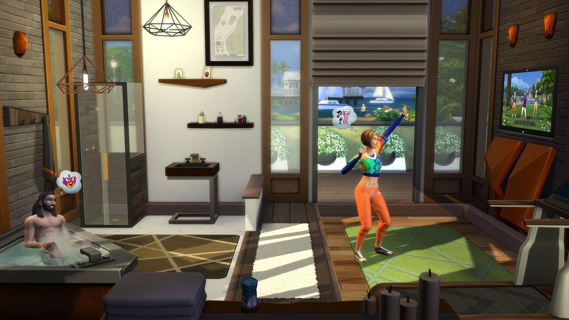The Sims 4 Fitness Stuff Origin Key GLOBAL - 2