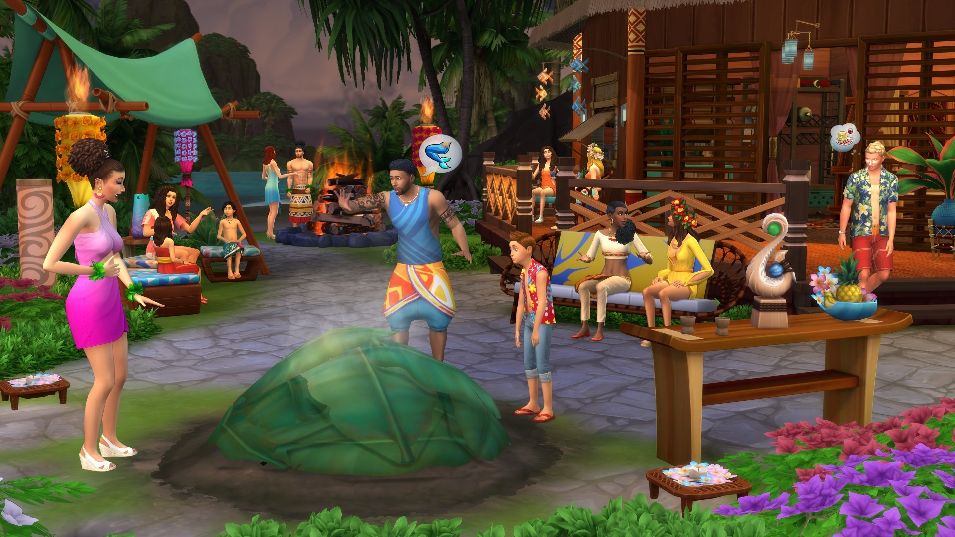 The Sims 4: Island Living Origin Key GLOBAL - 4
