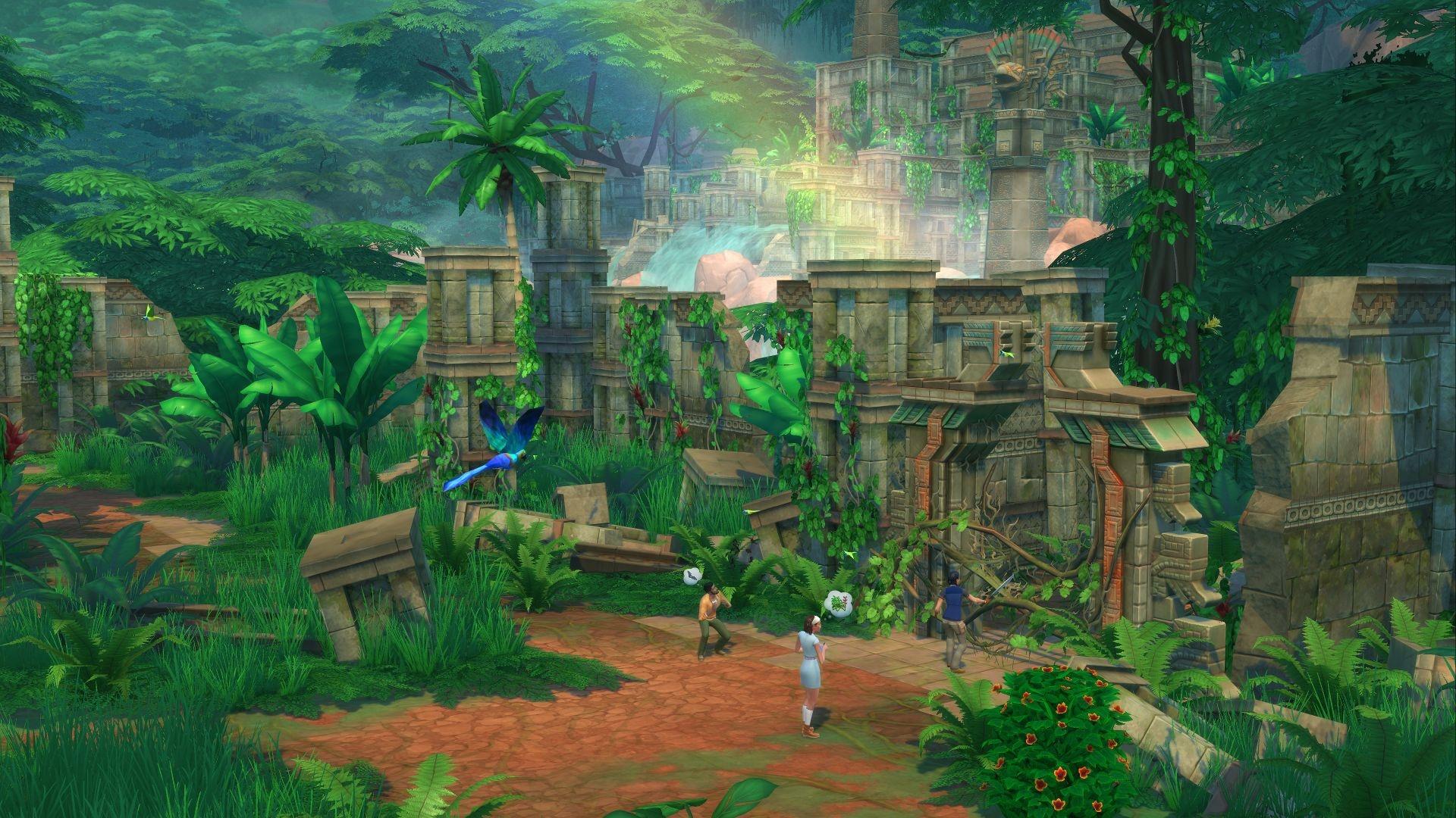 The Sims 4 Jungle Adventure Origin Key GLOBAL - 4