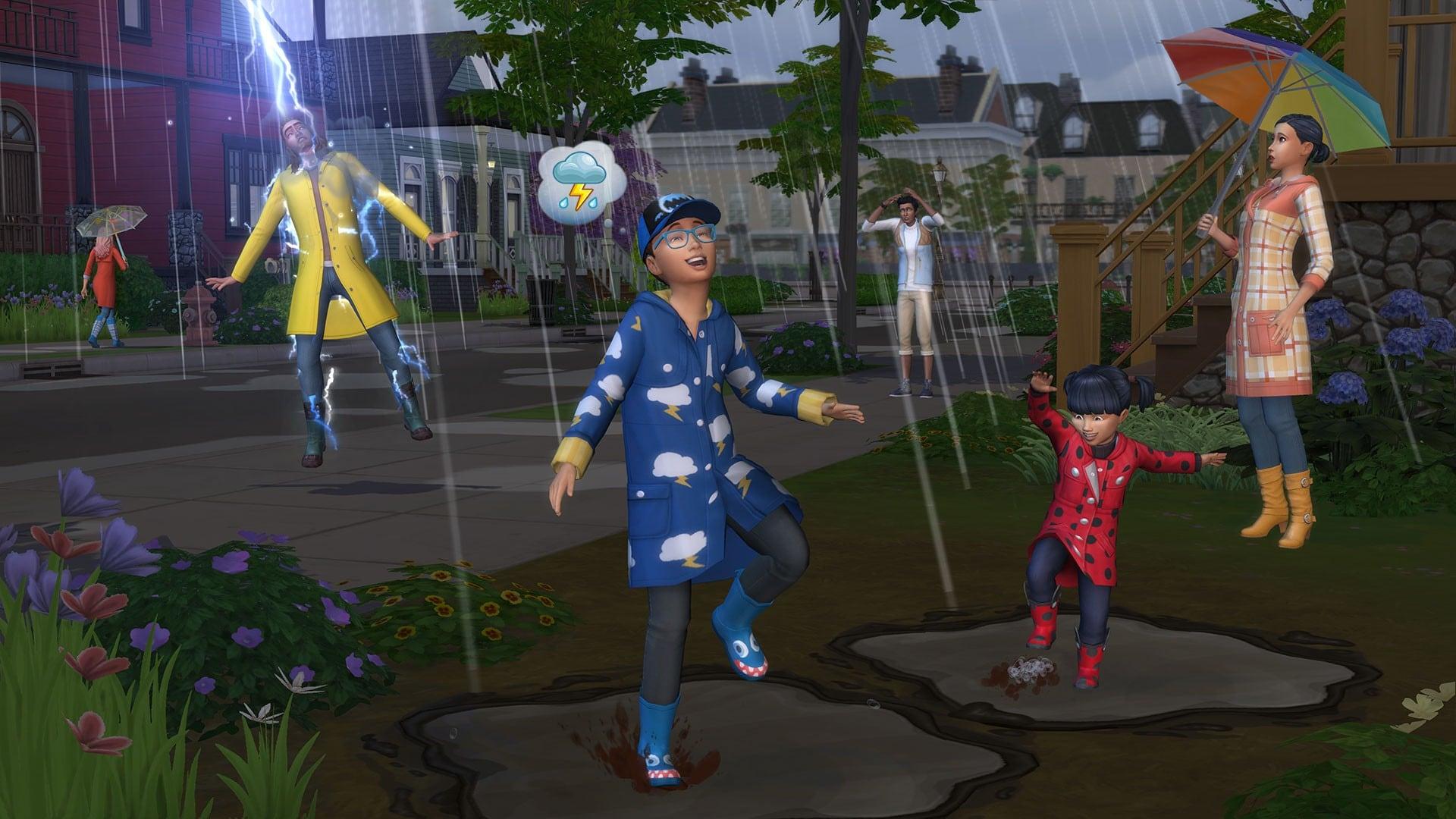 The Sims 4 Seasons Origin Key GLOBAL - 4