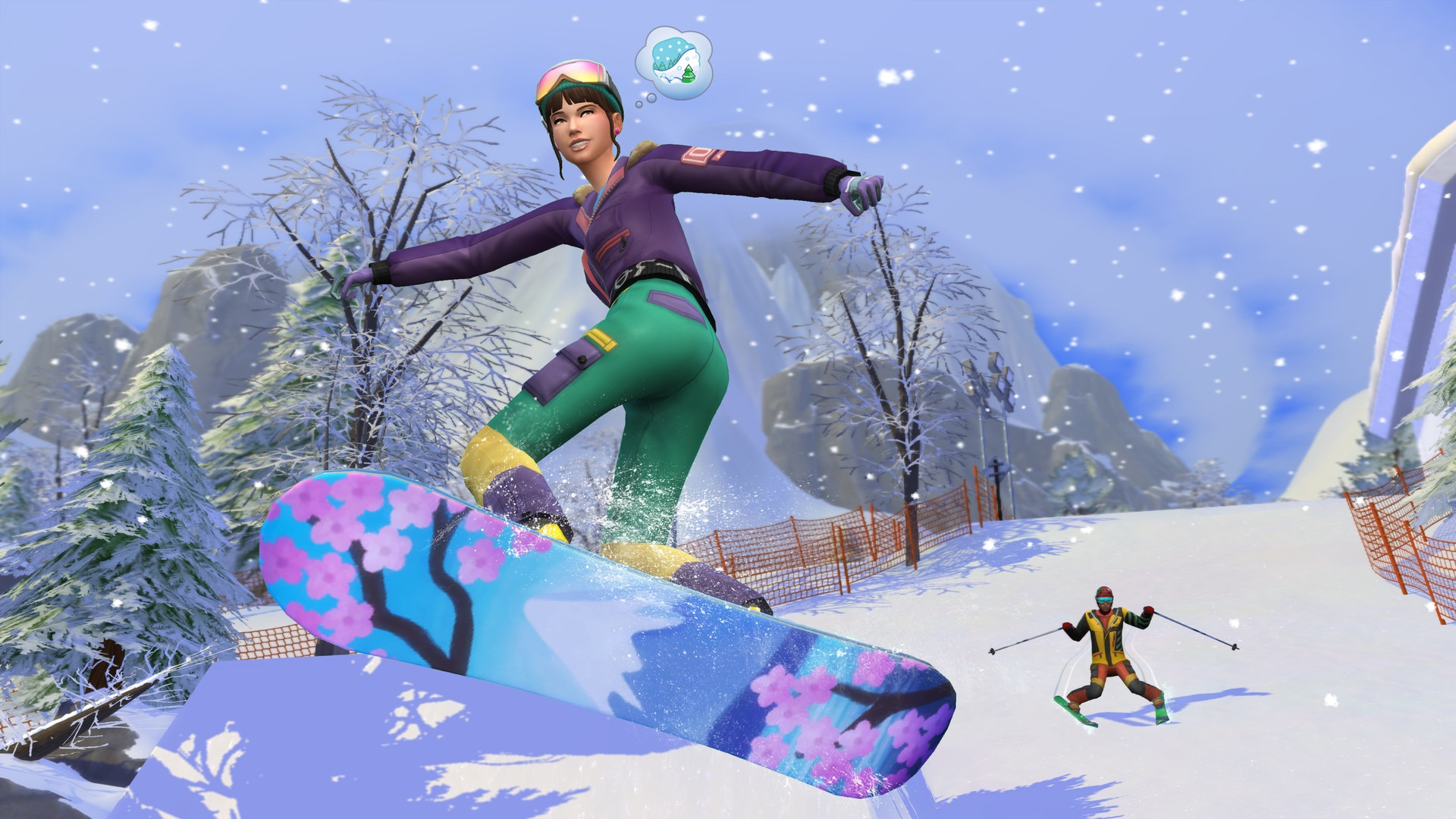 The Sims 4 Snowy Escape Pack (PC) - Origin Key - GLOBAL - 2