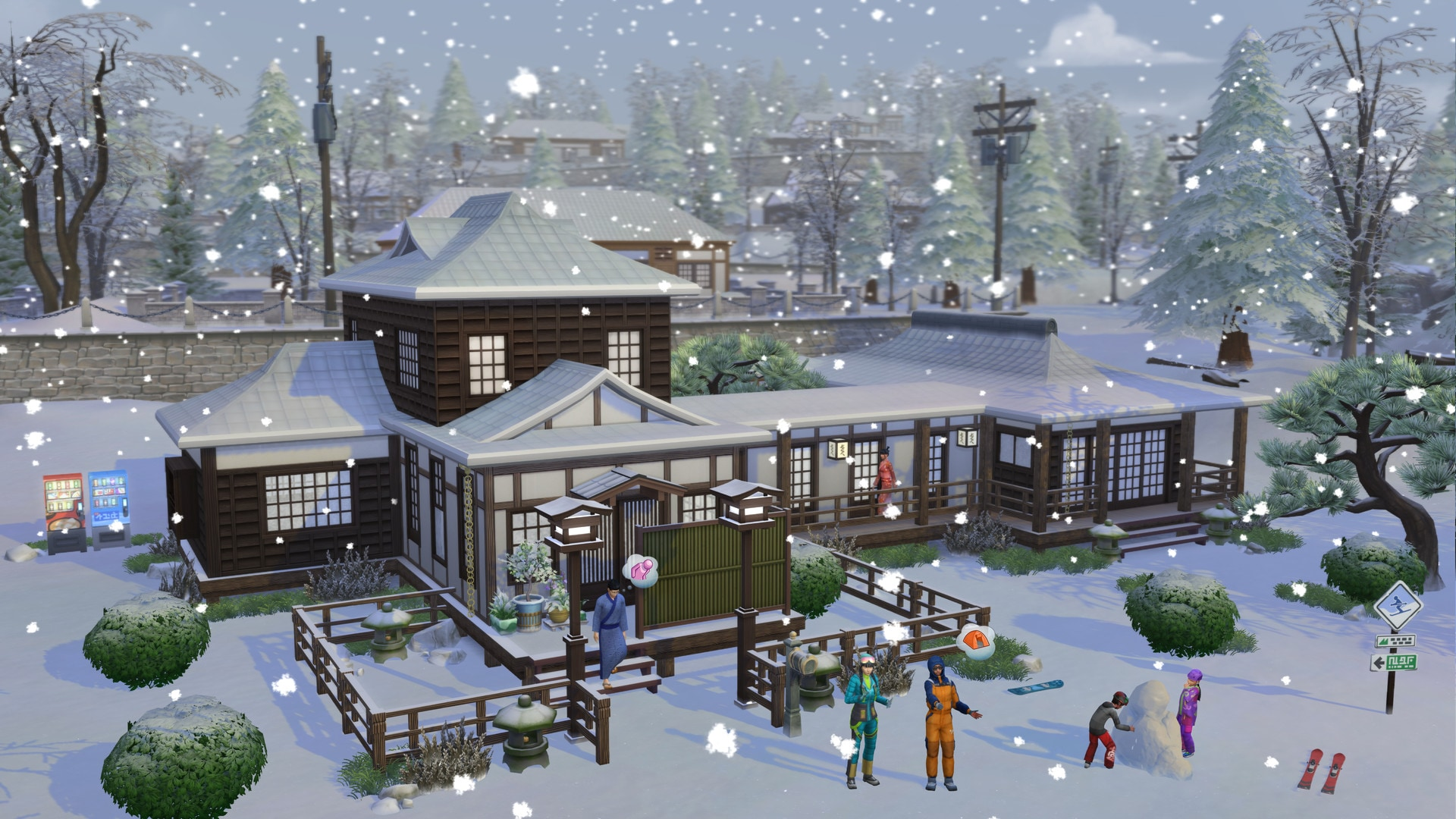 The Sims 4 Snowy Escape Pack (PC) - Origin Key - GLOBAL - 4