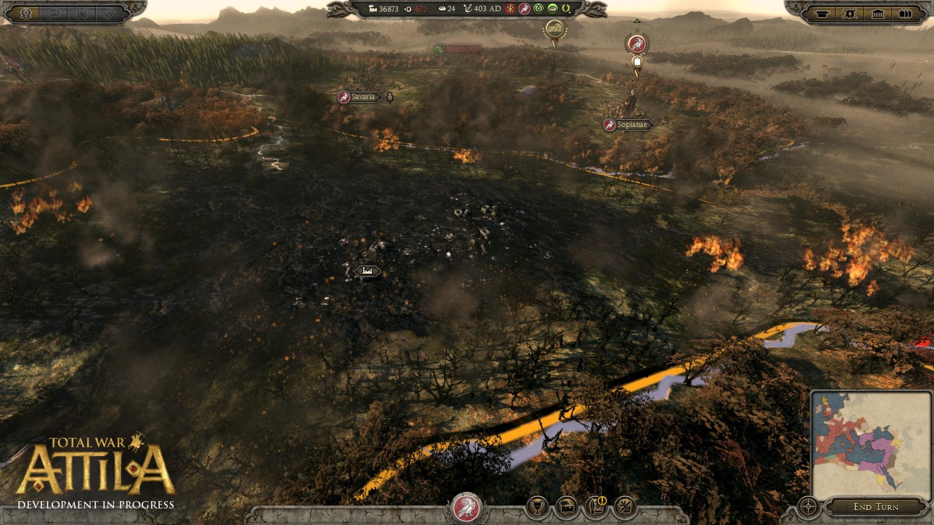 Total War: Attila Steam Key GLOBAL - 3