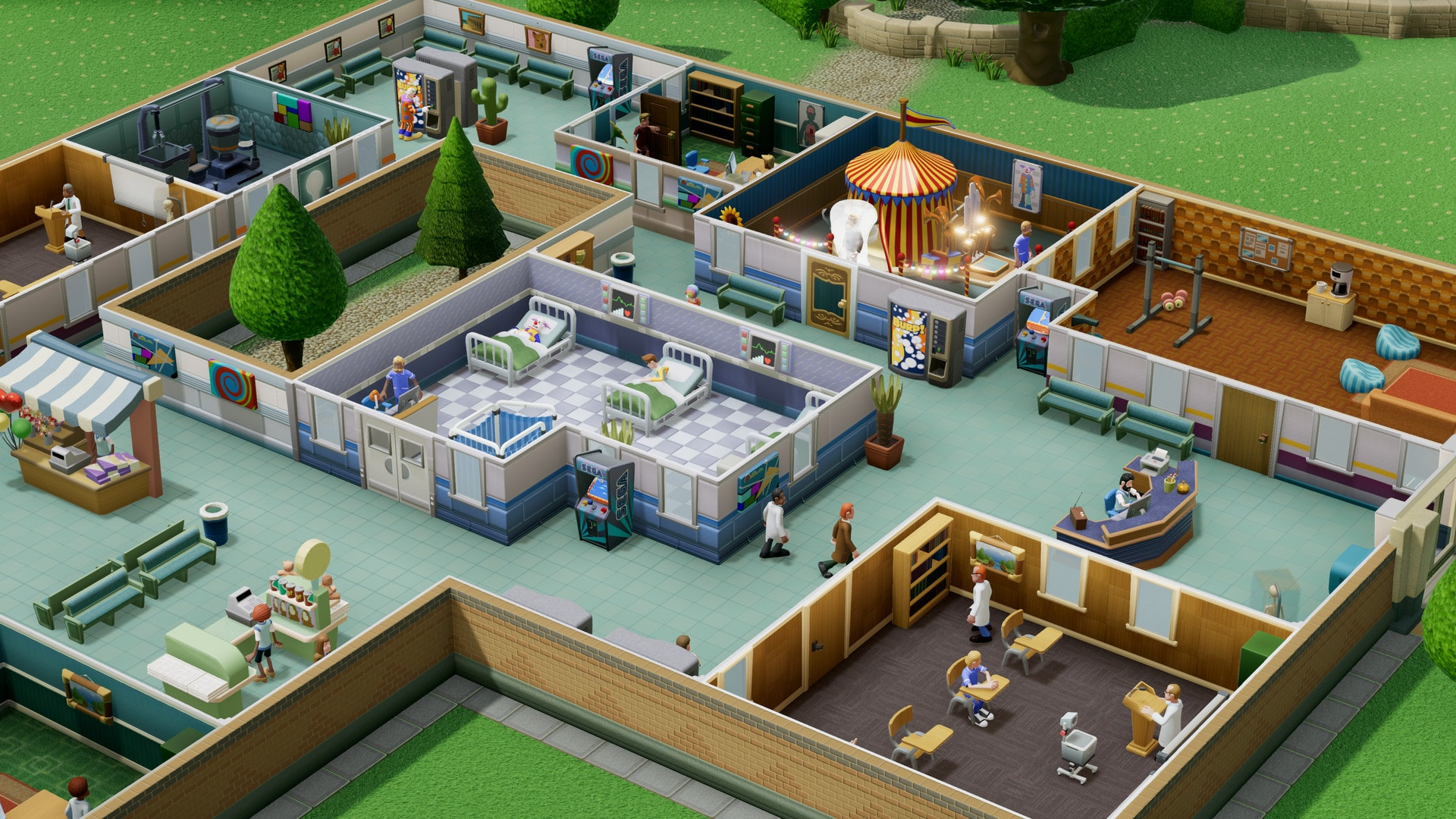 Two Point Hospital (PC) - Steam Key - GLOBAL - 3