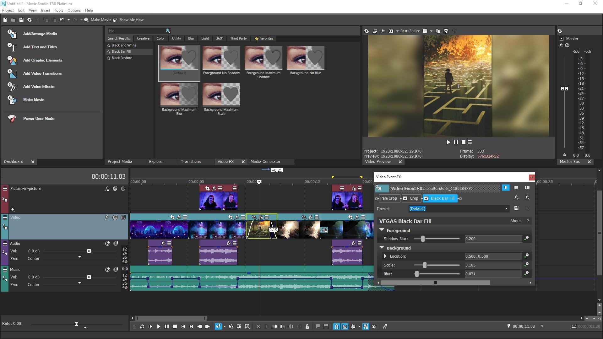 VEGAS Movie Studio 17 Platinum Steam Edition (PC) - Steam Gift - EUROPE - 2
