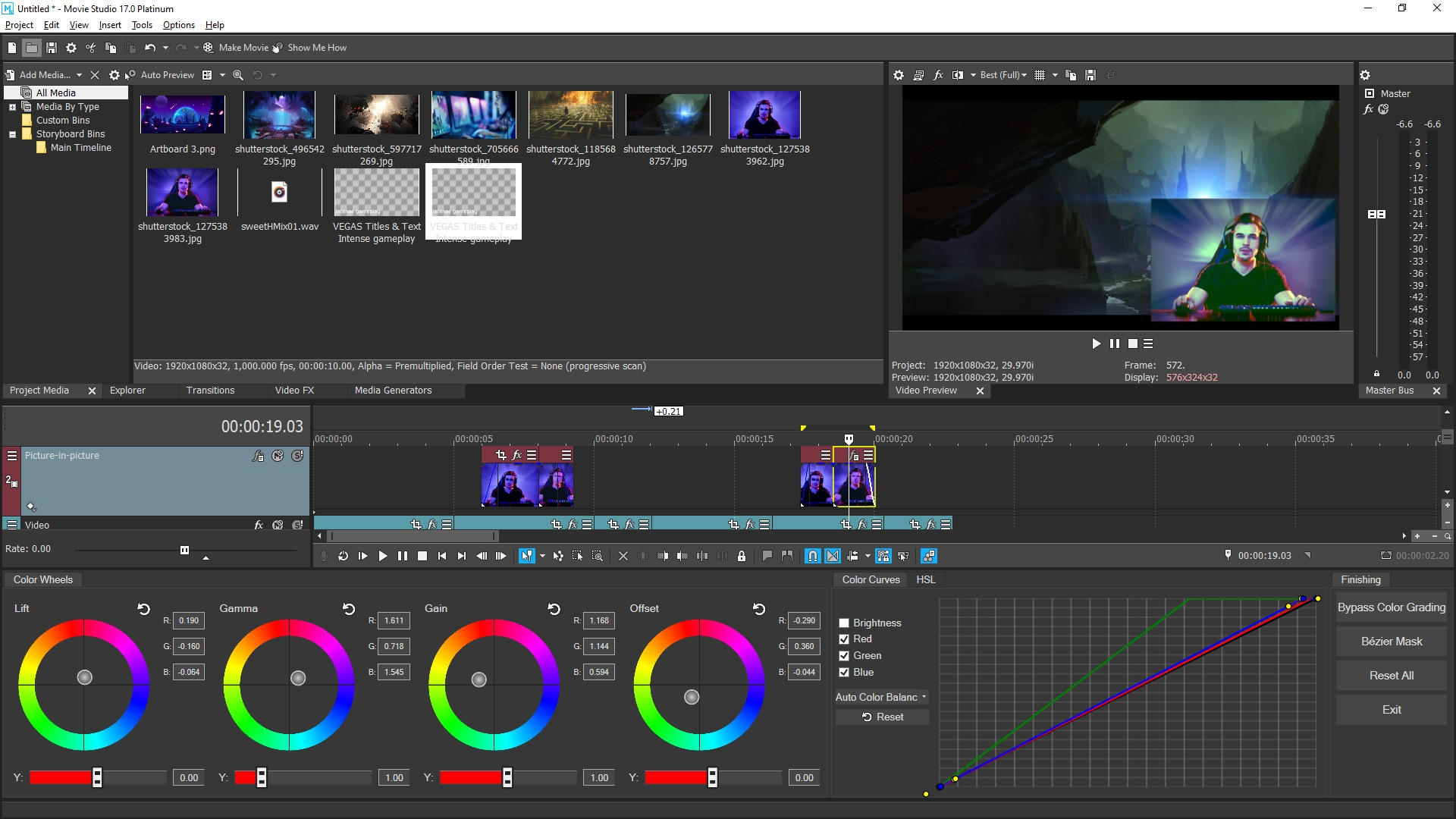 VEGAS Movie Studio 17 Platinum Steam Edition (PC) - Steam Gift - GLOBAL - 4