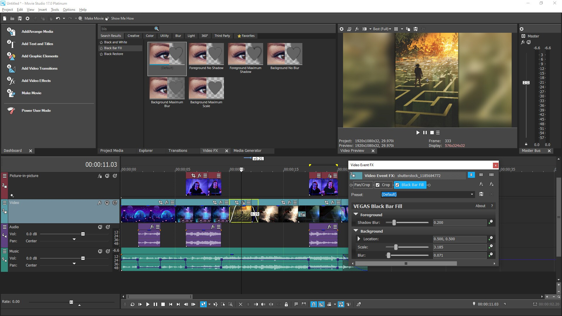 VEGAS Movie Studio 17 Platinum Steam Edition (PC) - Steam Gift - NORTH AMERICA - 2