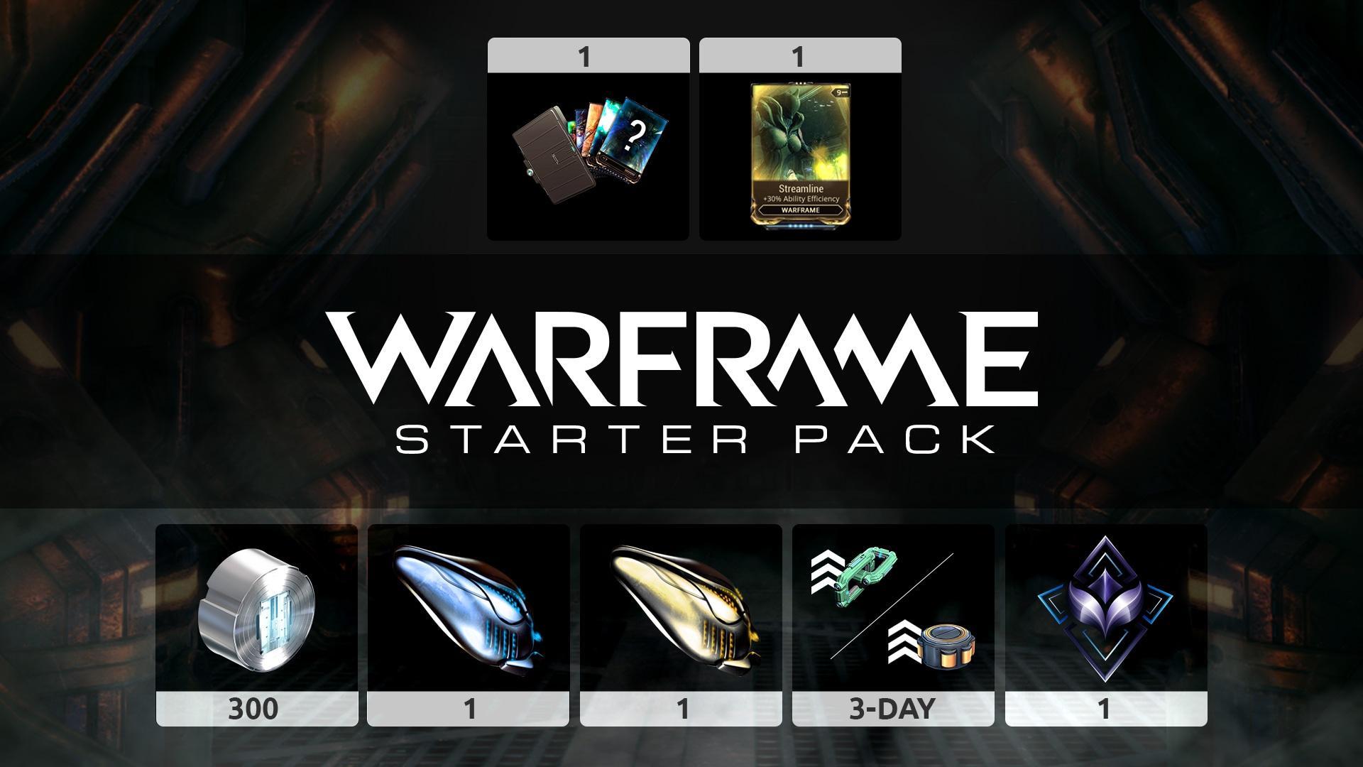 Warframe: Starter Pack (PC) - Warframe Key - GLOBAL - 3