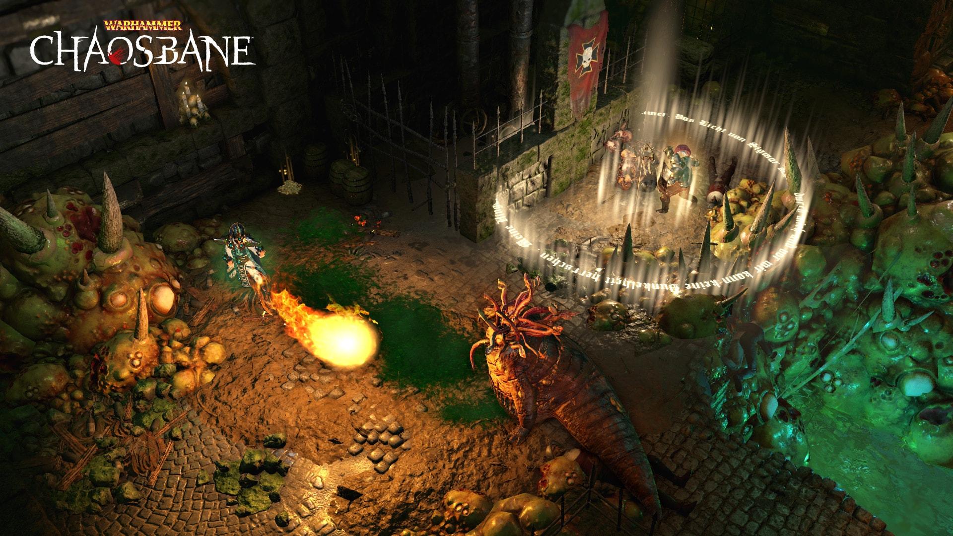 Warhammer: Chaosbane Magnus Edition Steam Key GLOBAL - 4