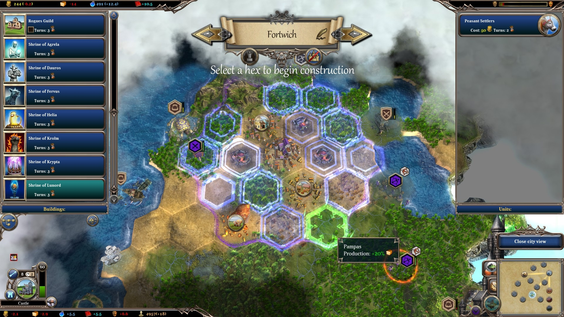Warlock 2: the Exiled Steam Key GLOBAL - 4