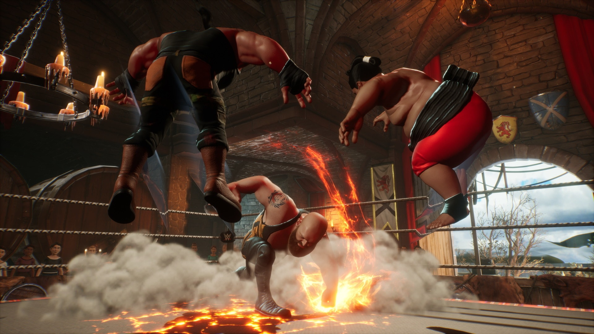 WWE 2K Battlegrounds (PC) - Steam Key - GLOBAL - 3