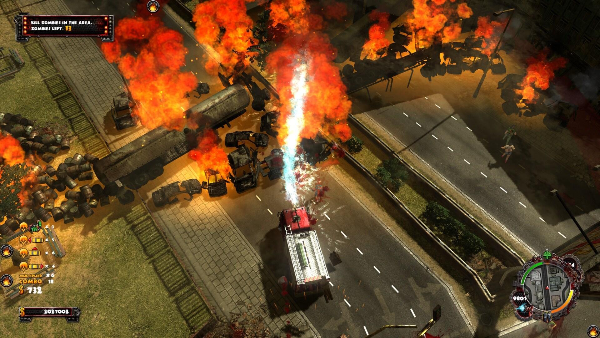 Zombie Driver HD Steam Key GLOBAL - 3