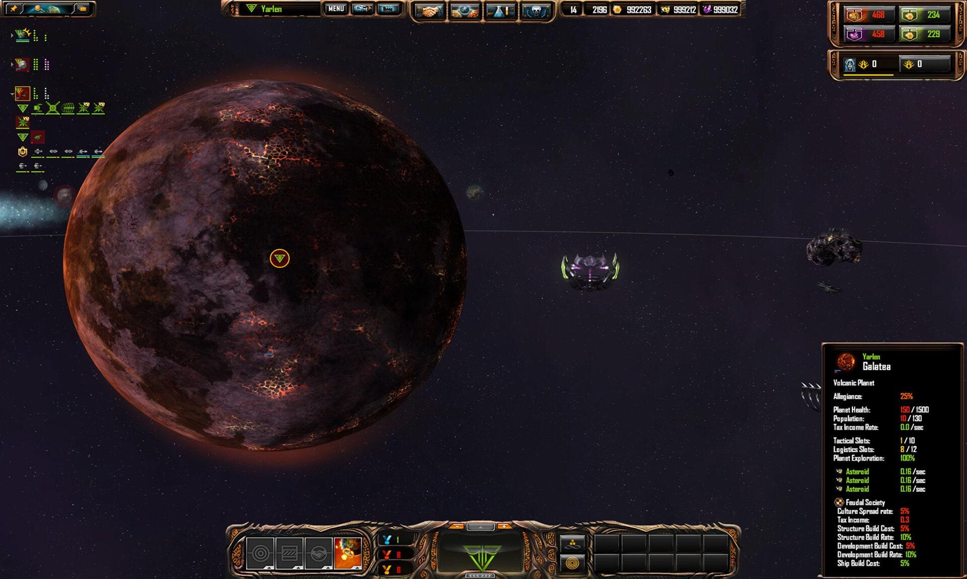 Sins of a Solar Empire: Rebellion Ultimate Edition Steam Key GLOBAL - 2