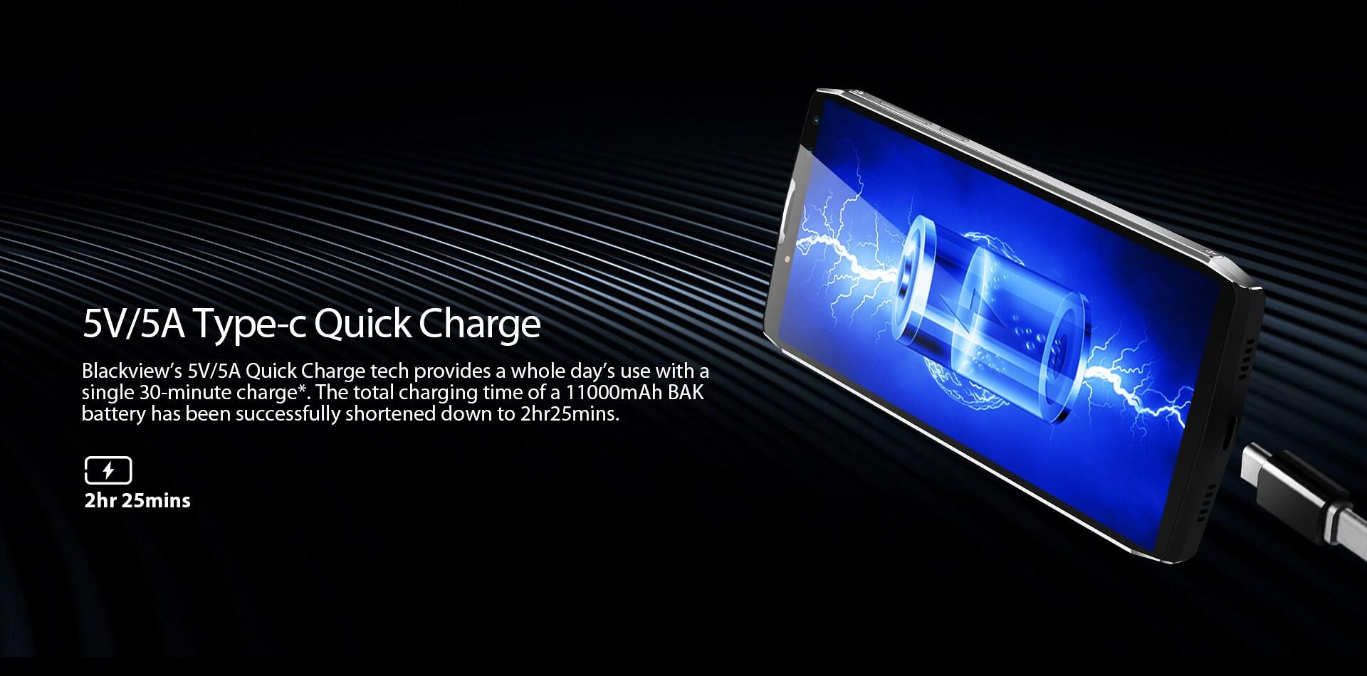 Blackview P10000 Pro 5.99 Inch FHD+ Full Screen 4GB RAM + 64GB ROM MT6763 Octa Core Smartphone Glass Black - 10