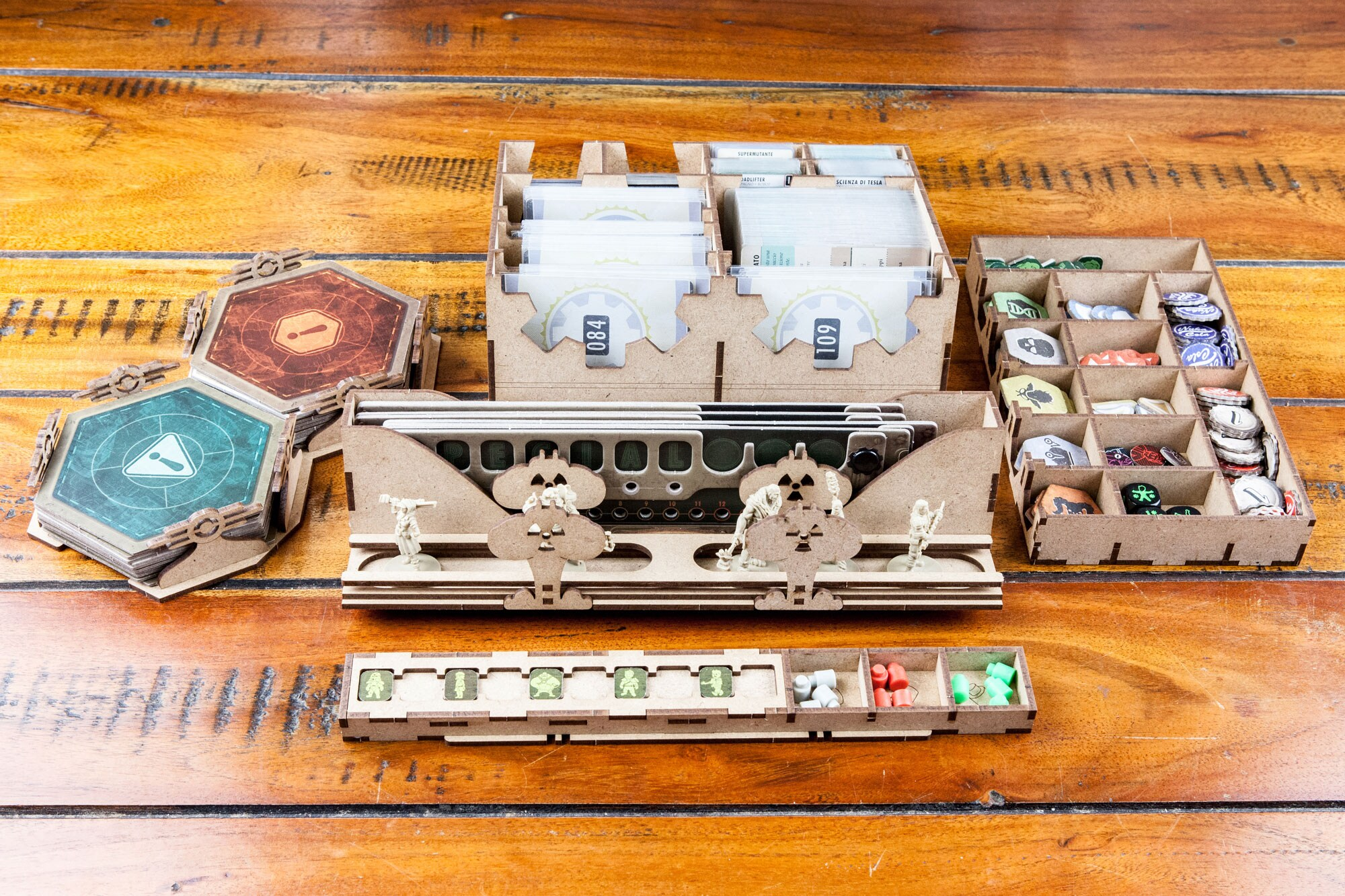 Fallout (base game or with New California expansion) Organizer Insert - 4