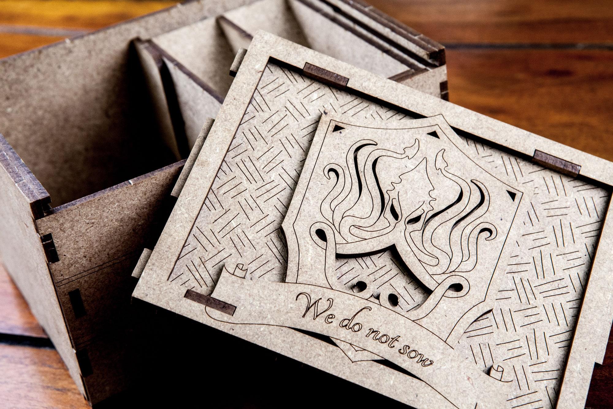 Game of Thrones LCG - Deck Holder - Greyjoy - 5