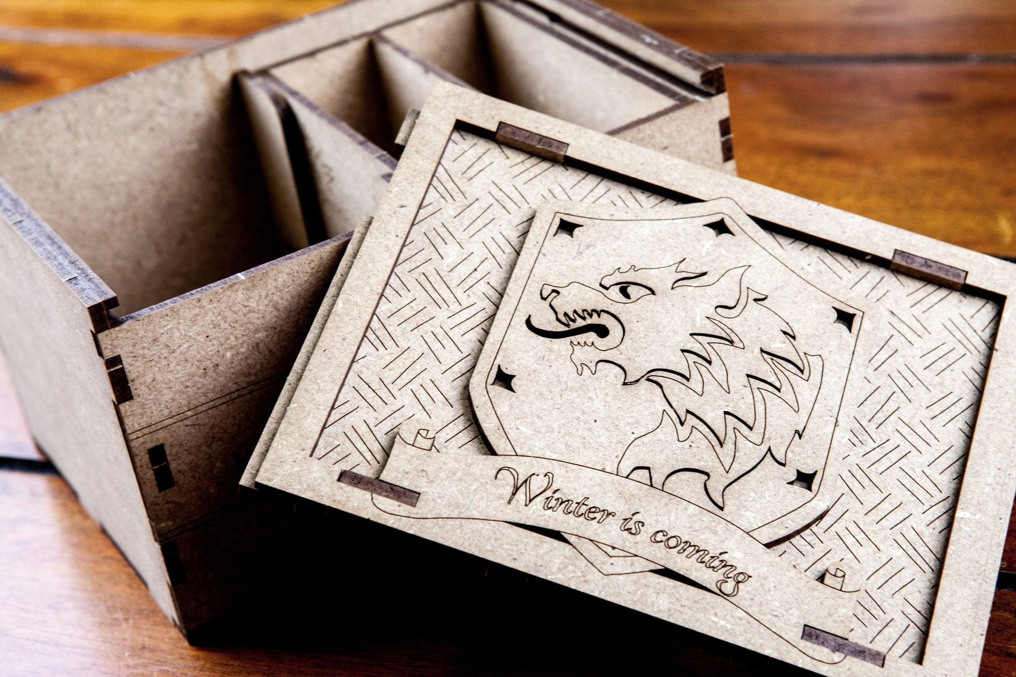 Game of Thrones LCG - Deck Holder - Stark - 6