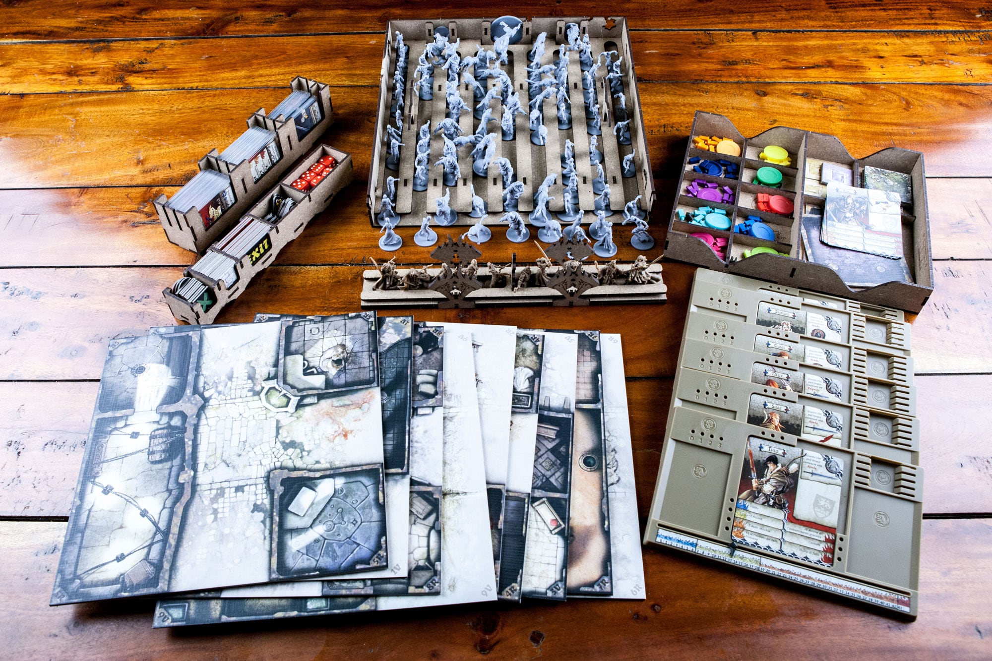 Zombicide Black Plague (base game or with Wulfsburg expansion) Organizer Insert - 3