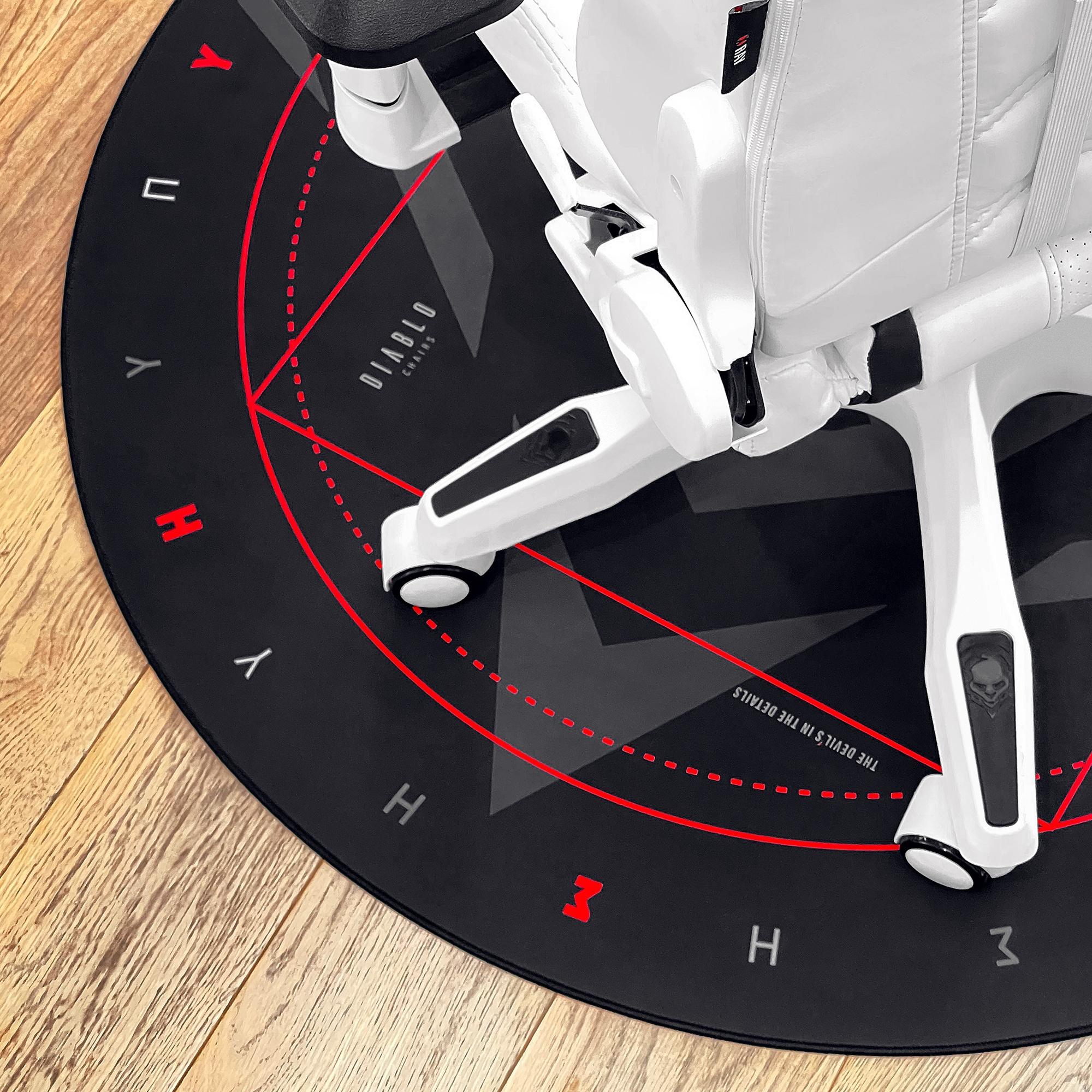 Diablo Chairs Floor Pad Gaming - 4