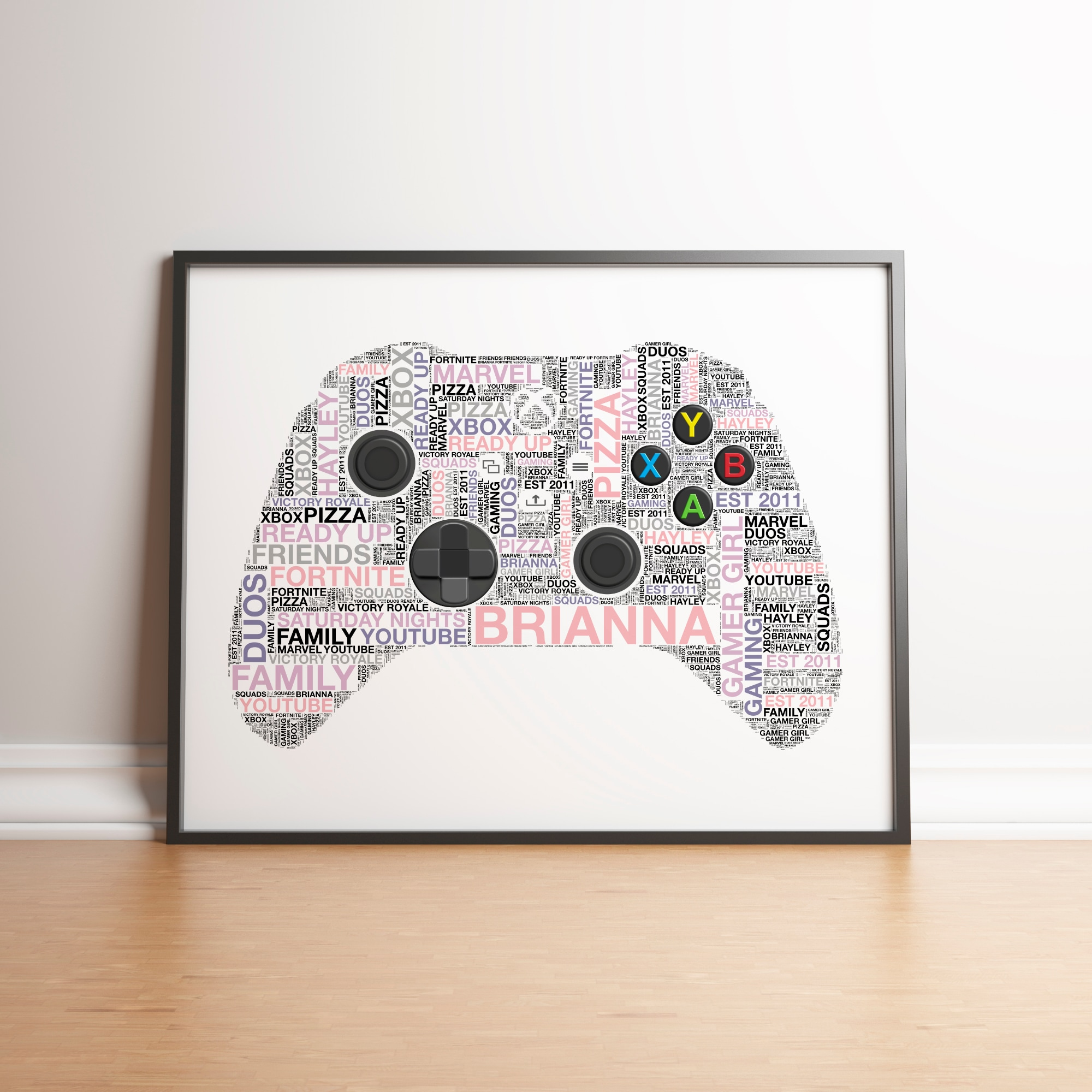 Personalised Xbox X Controller Print - 4