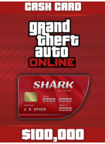 Grand Theft Auto Online: The Red Shark Cash Card 100 000 PS4 PSN Key GERMANY - 2