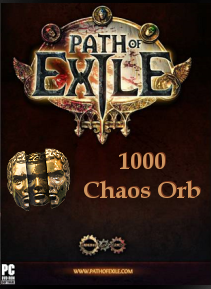 Path of Exile Chaos Orbs Code PC GLOBAL 1000 - 1
