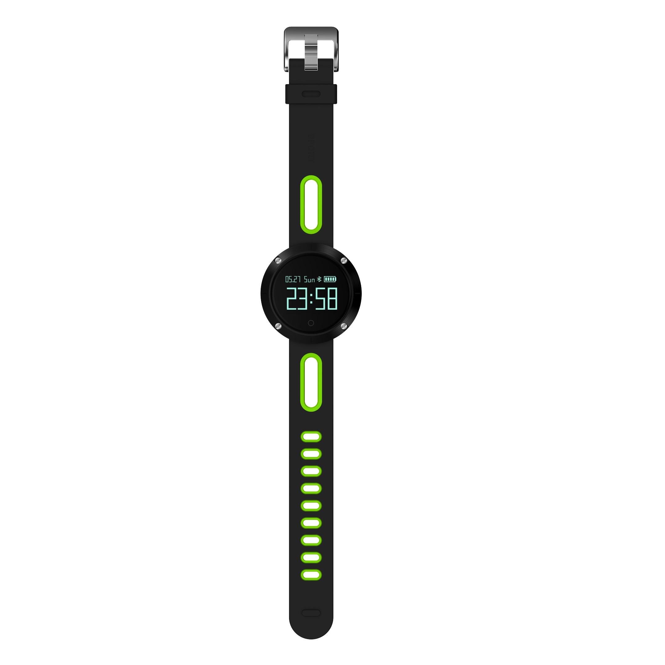 DOMINO DM58 0.95 Inch Round Display Screen Smart Bracelet Heart Rate Monitor Sport Wristband Fitness Tracker Black - 8