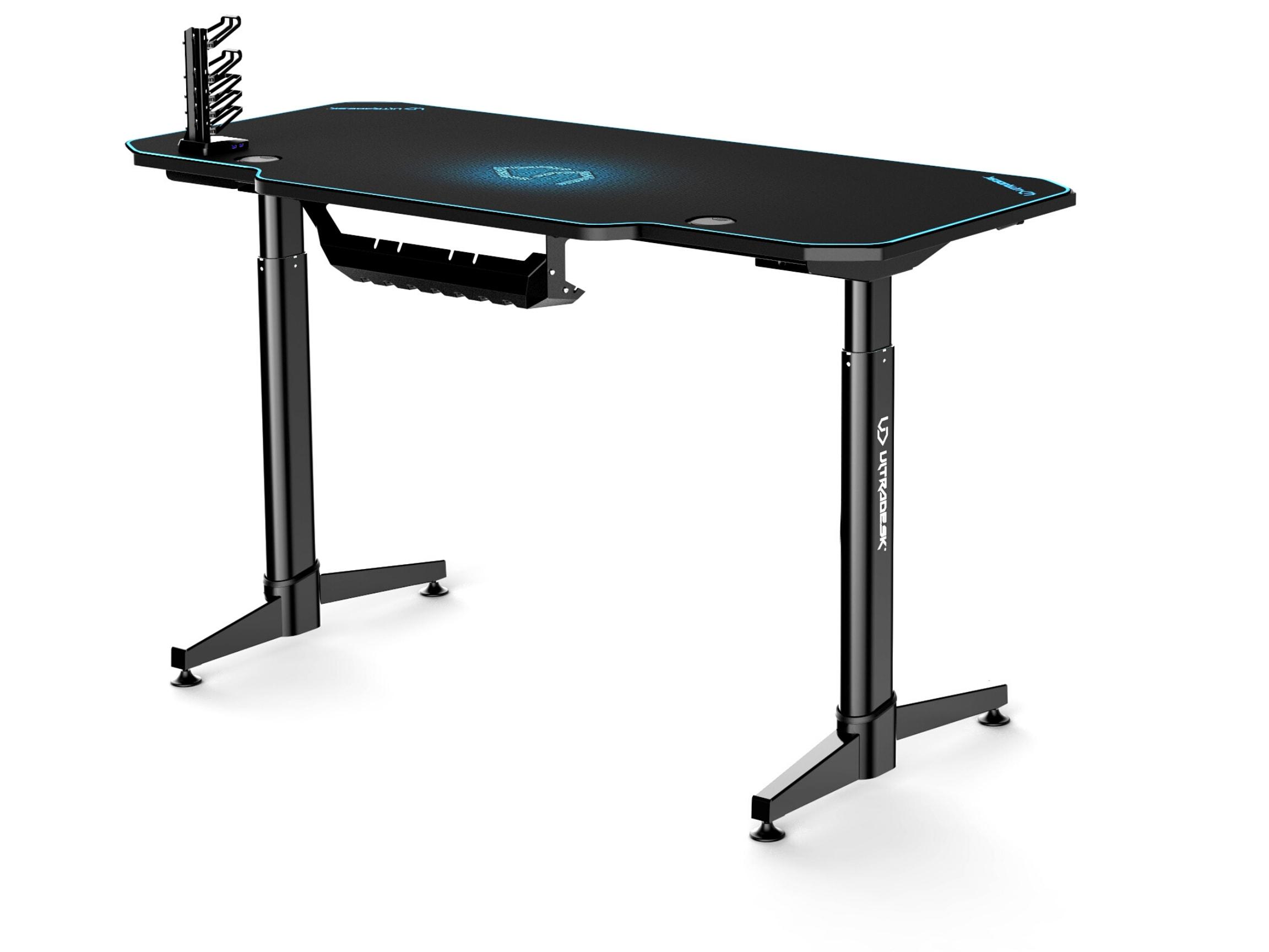 ULTRADESK LEVEL BLUE- electric gaming desk - 5