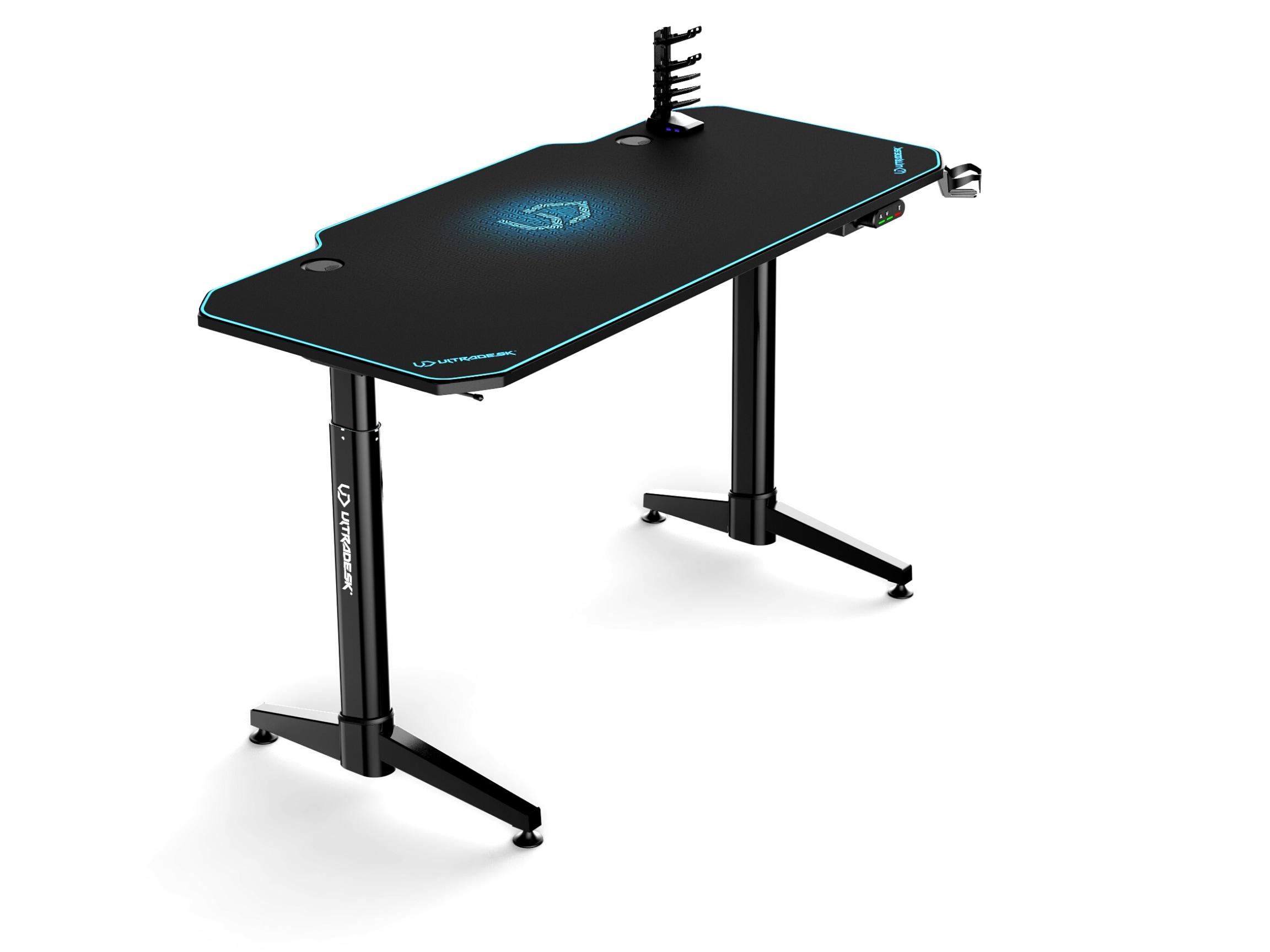 ULTRADESK LEVEL BLUE- electric gaming desk - 6