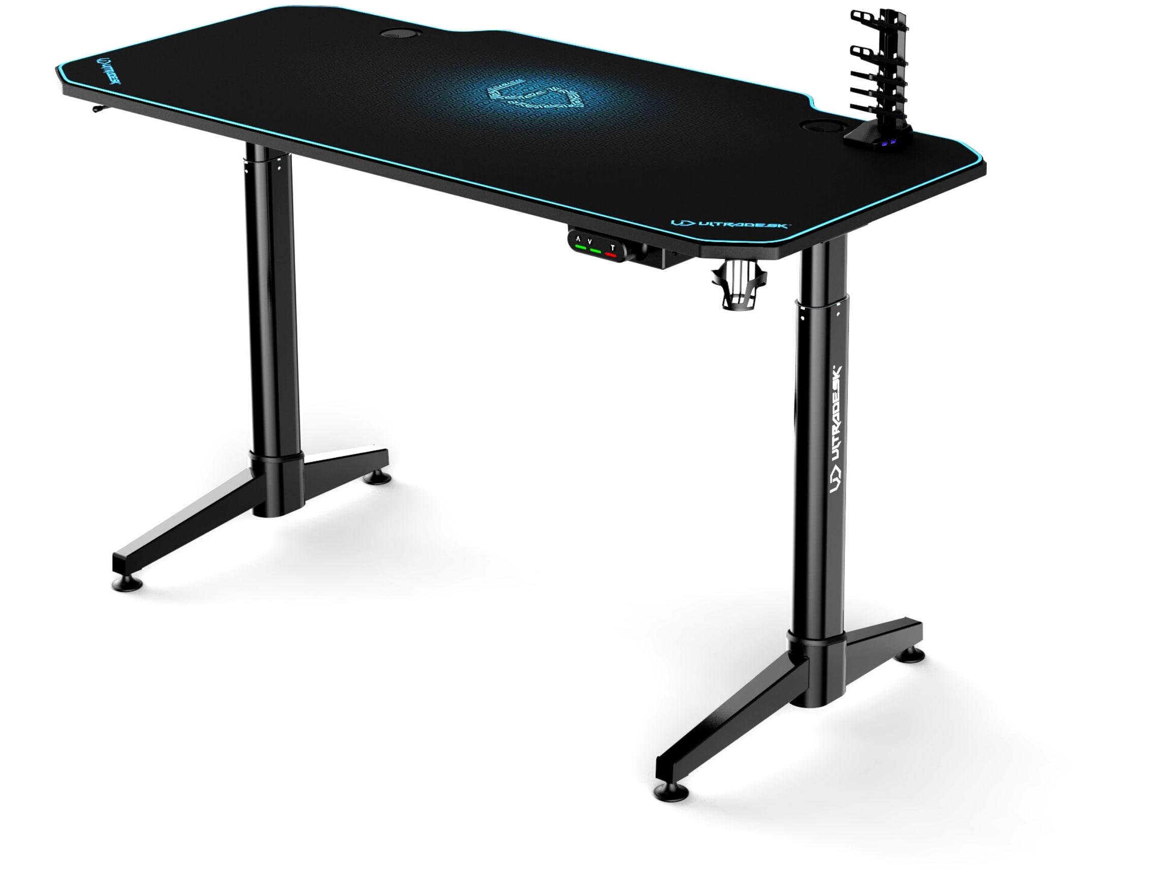 ULTRADESK LEVEL BLUE- electric gaming desk - 4